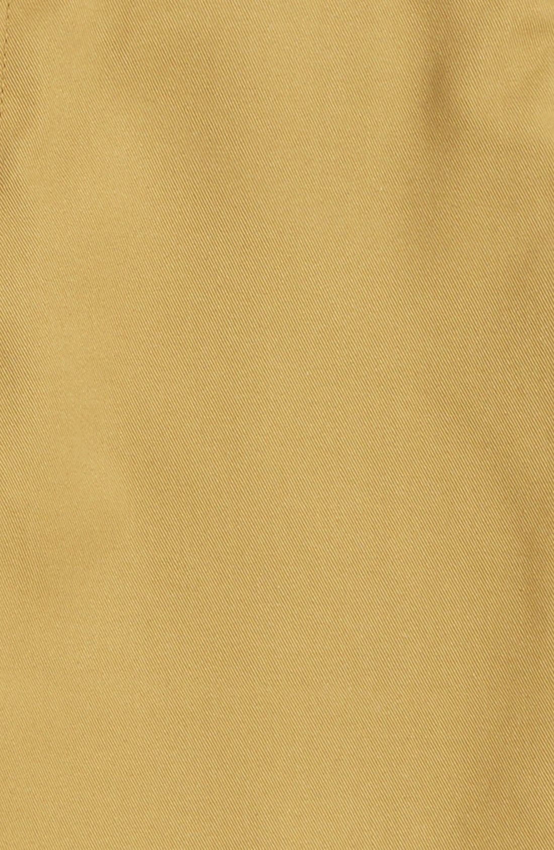 Chino Shorts,                             Alternate thumbnail 2, color,                             KHAKI DARK
