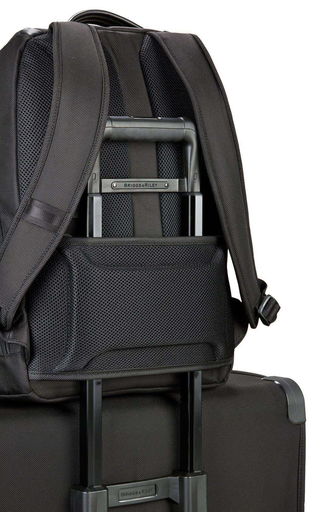 @work - Medium Backpack,                             Alternate thumbnail 4, color,                             004