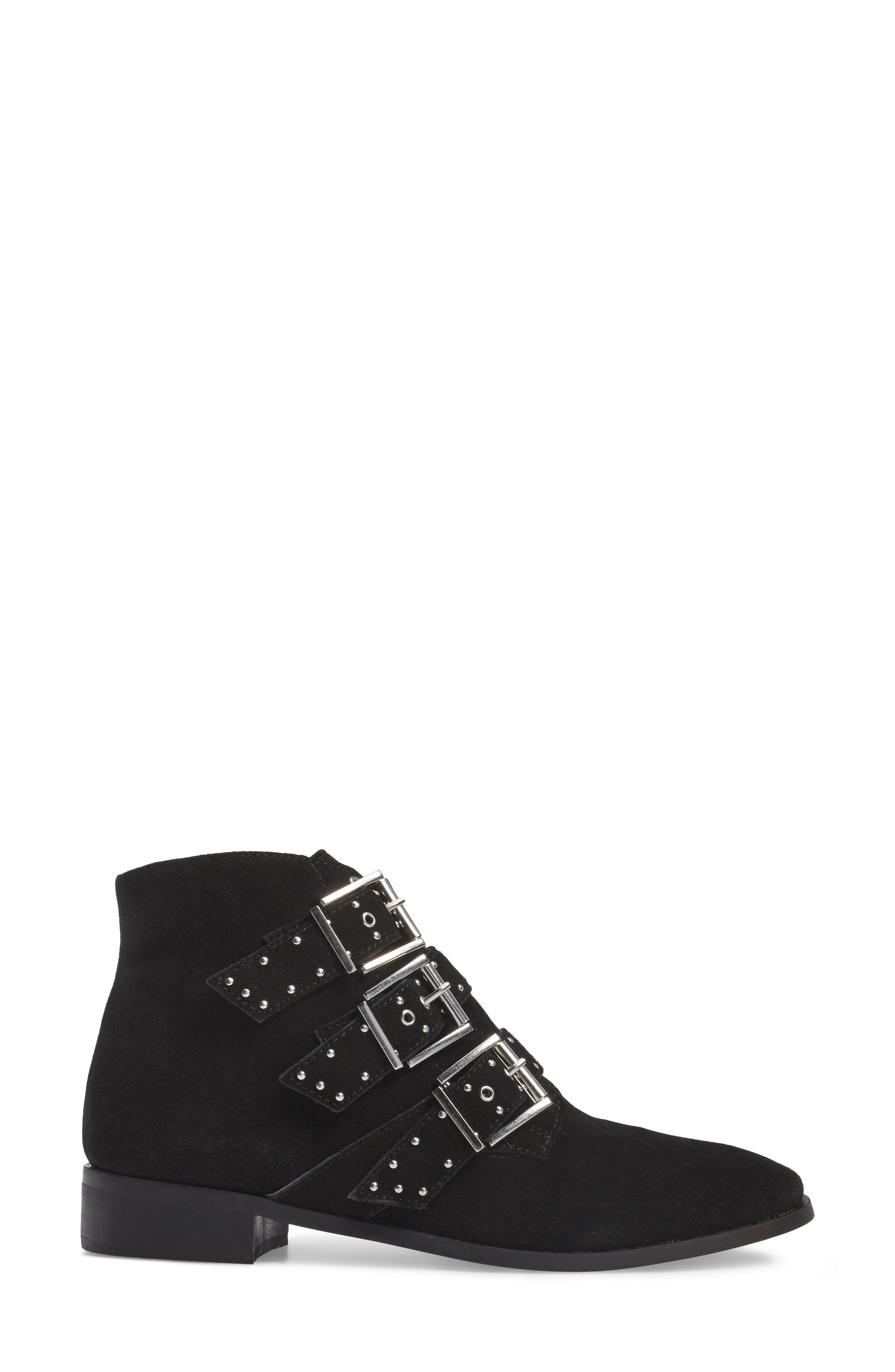 Krown Studded Bootie,                             Alternate thumbnail 5, color,