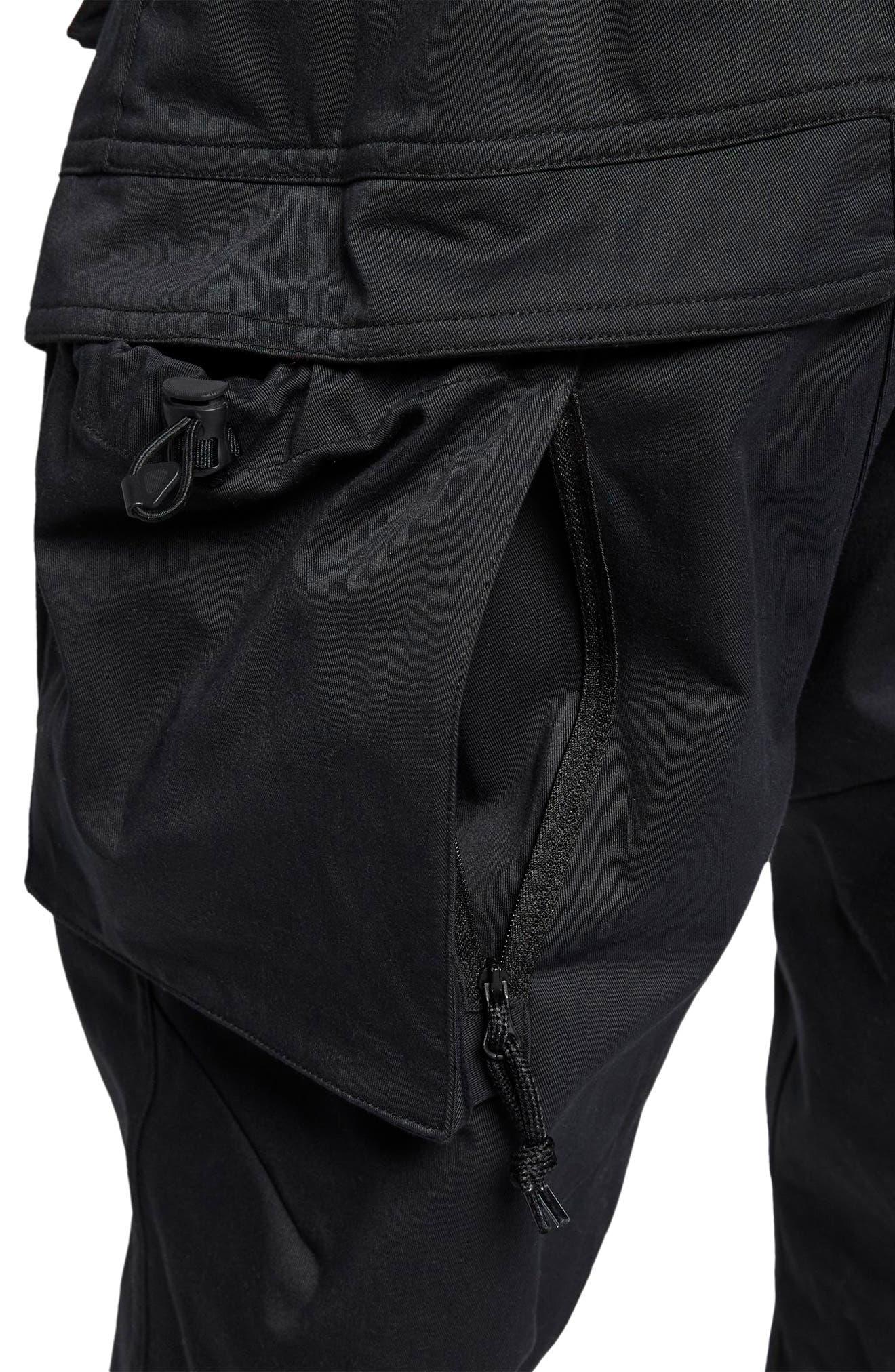ACG Men's Cargo Pants,                             Alternate thumbnail 4, color,                             BLACK