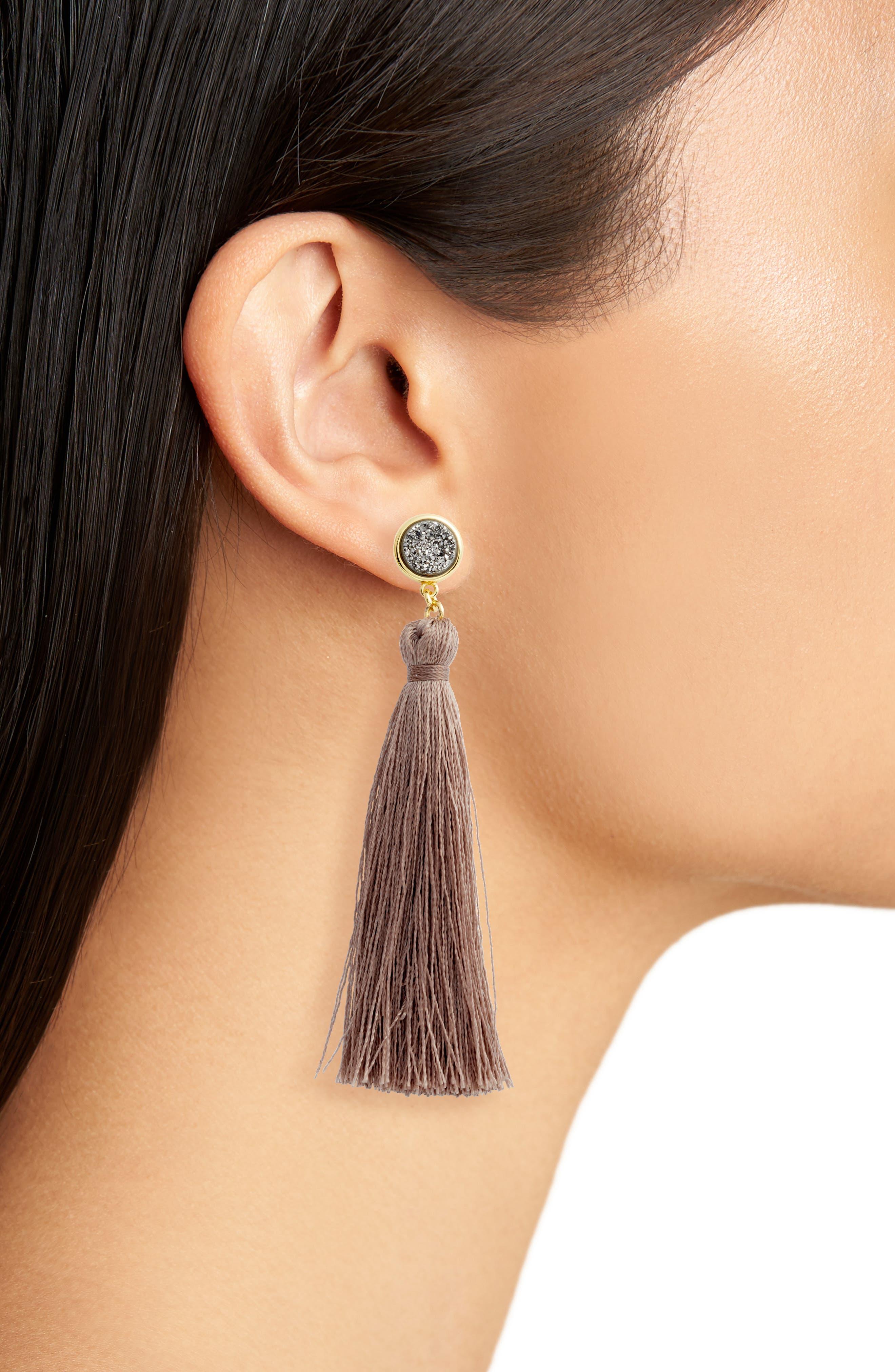 Astoria Tassel Earrings,                             Alternate thumbnail 2, color,                             710
