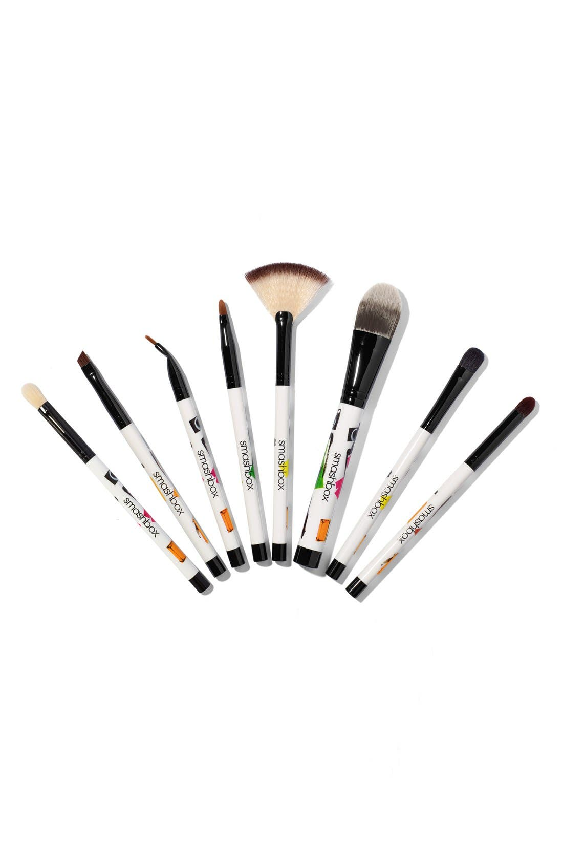 'Photo Bombshell' 8-Piece Brush Collection,                             Alternate thumbnail 4, color,                             000