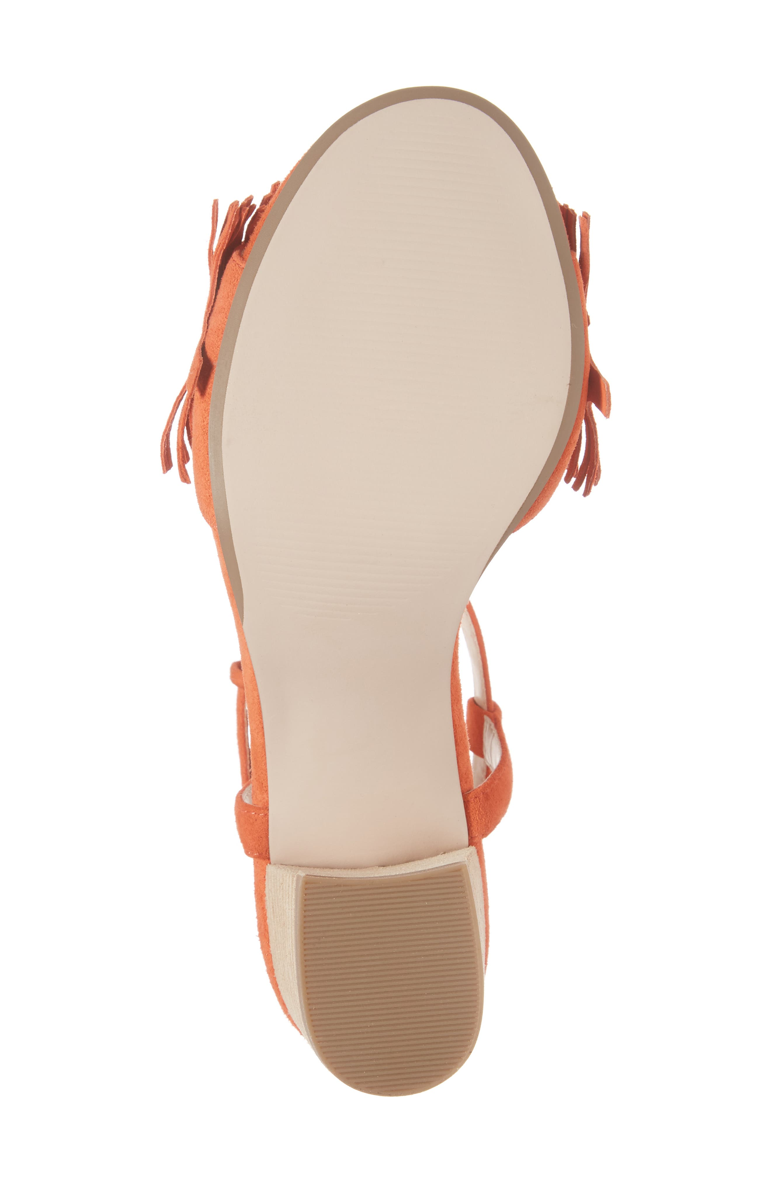Sepia Fringe Sandal,                             Alternate thumbnail 18, color,