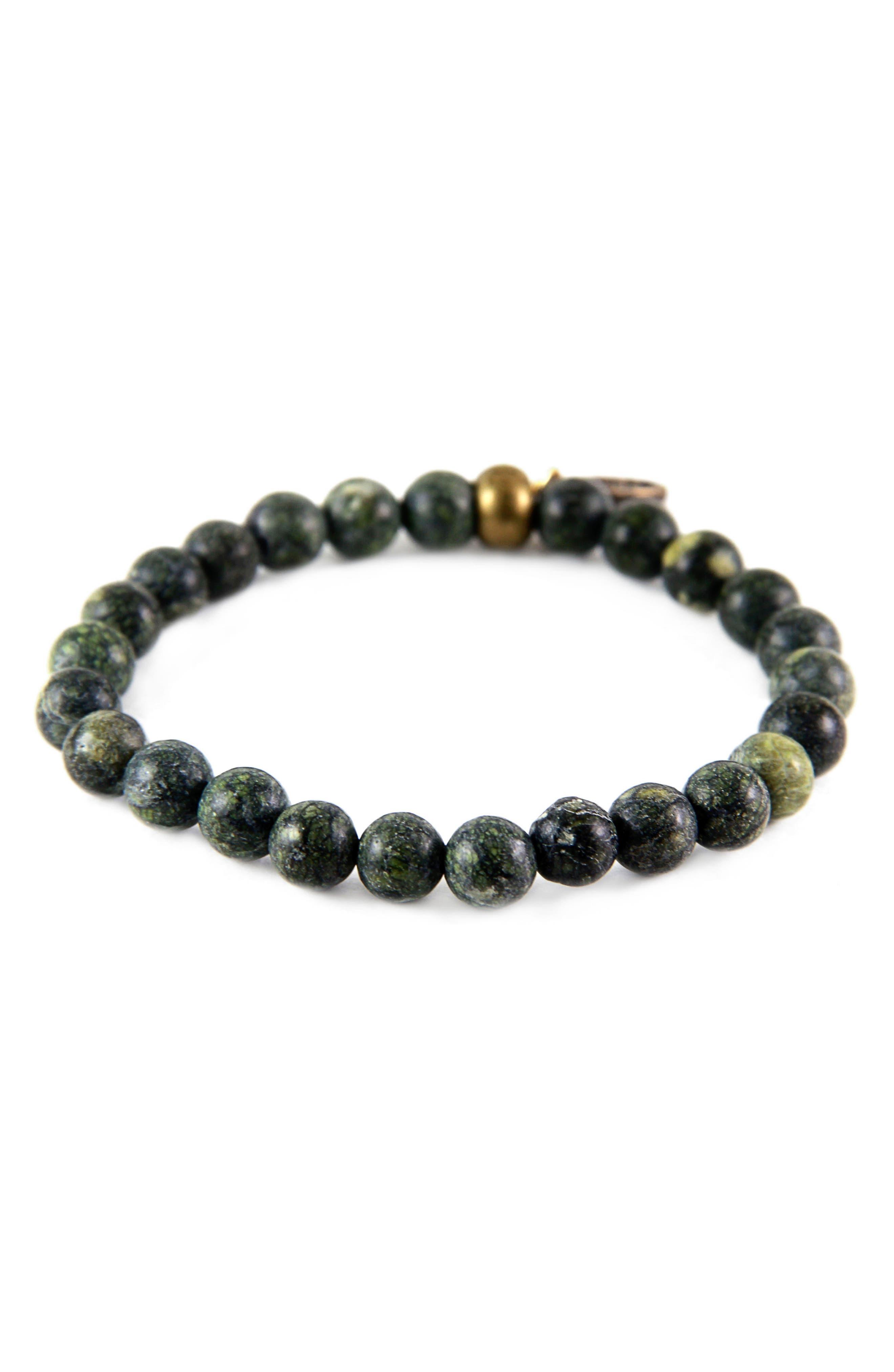 Russian Serpentine Bead Bracelet,                             Main thumbnail 1, color,                             301