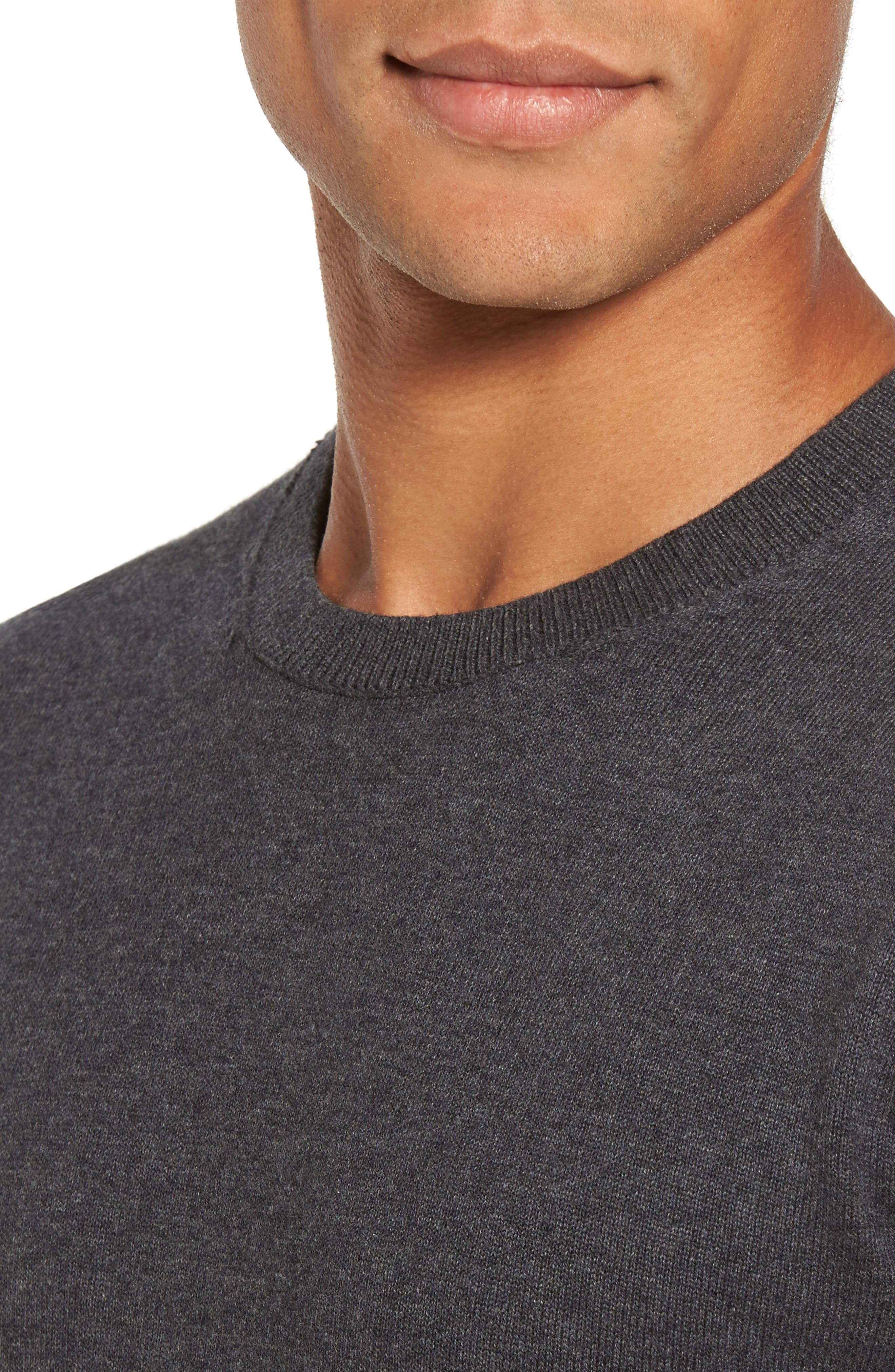 Portrait Crewneck Sweater,                             Alternate thumbnail 4, color,                             015