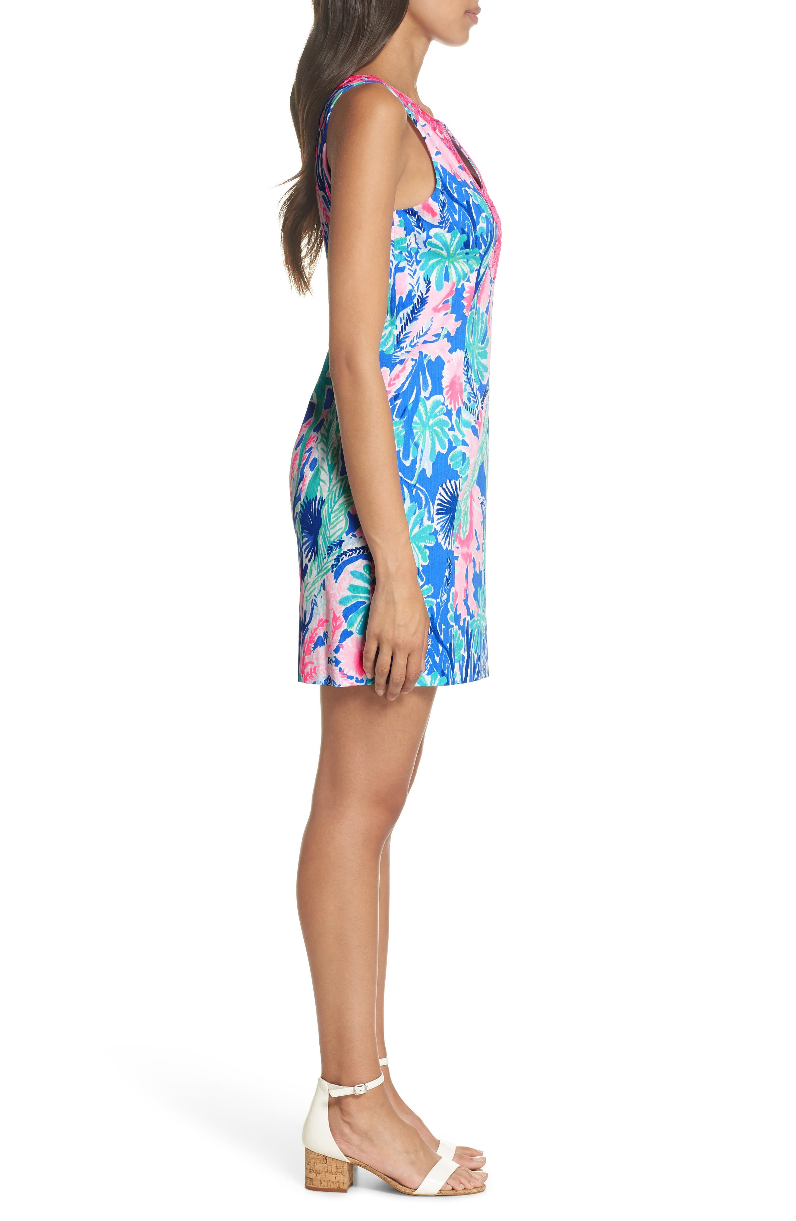 Gabby Sheath Dress,                             Alternate thumbnail 3, color,                             400