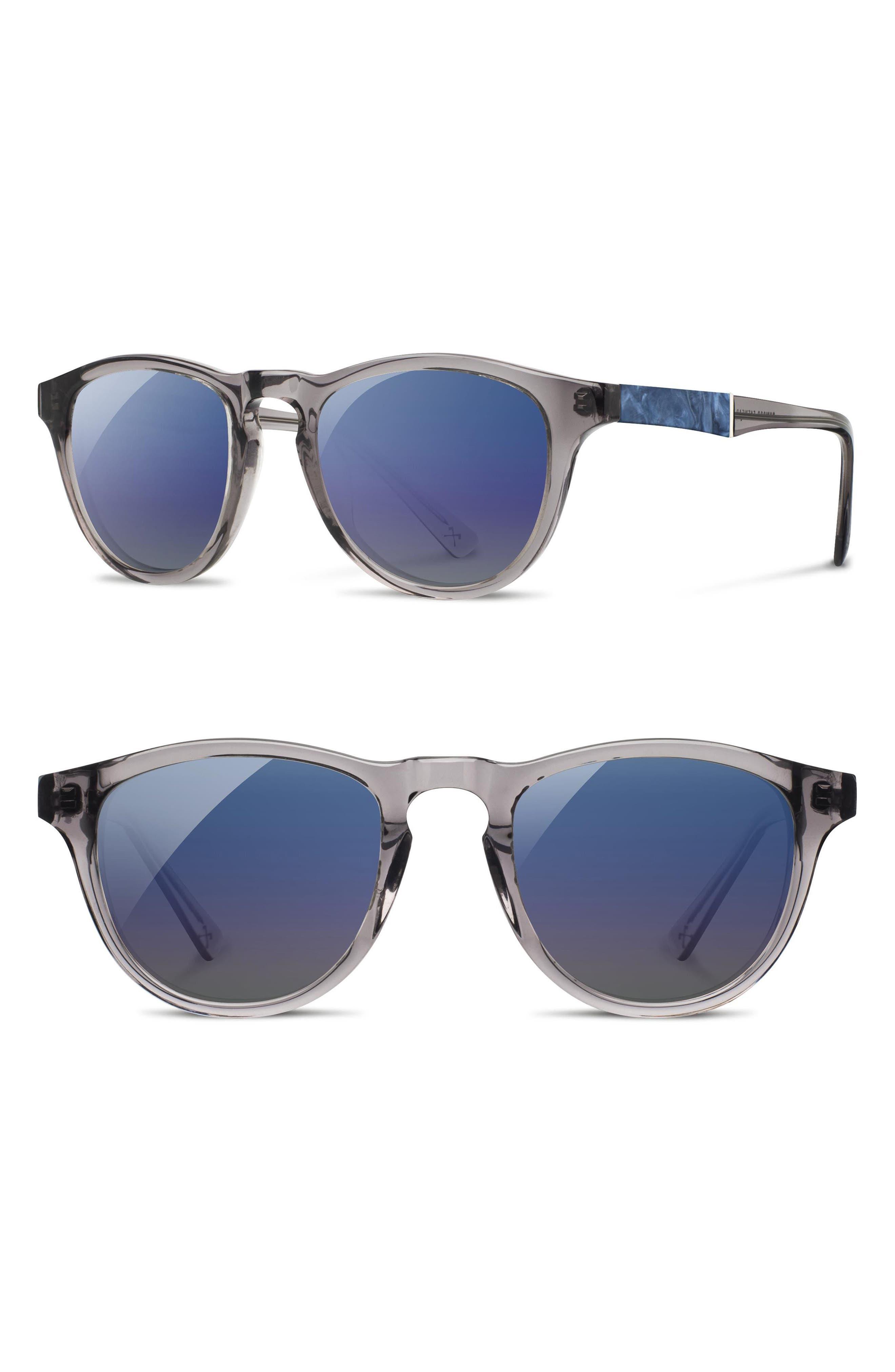 'Francis' 49mm Polarized Sunglasses,                             Main thumbnail 2, color,