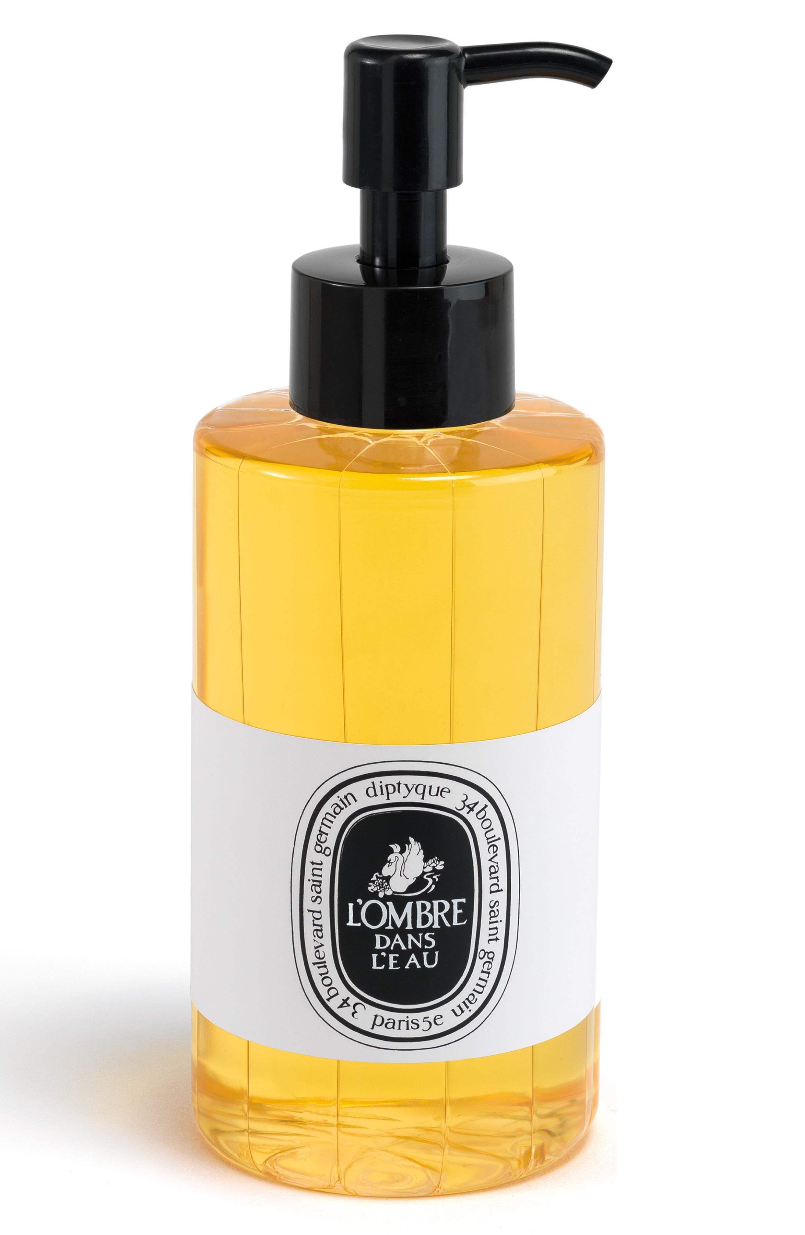 L'Ombre dans l'Eau Shower Oil,                             Main thumbnail 1, color,                             000