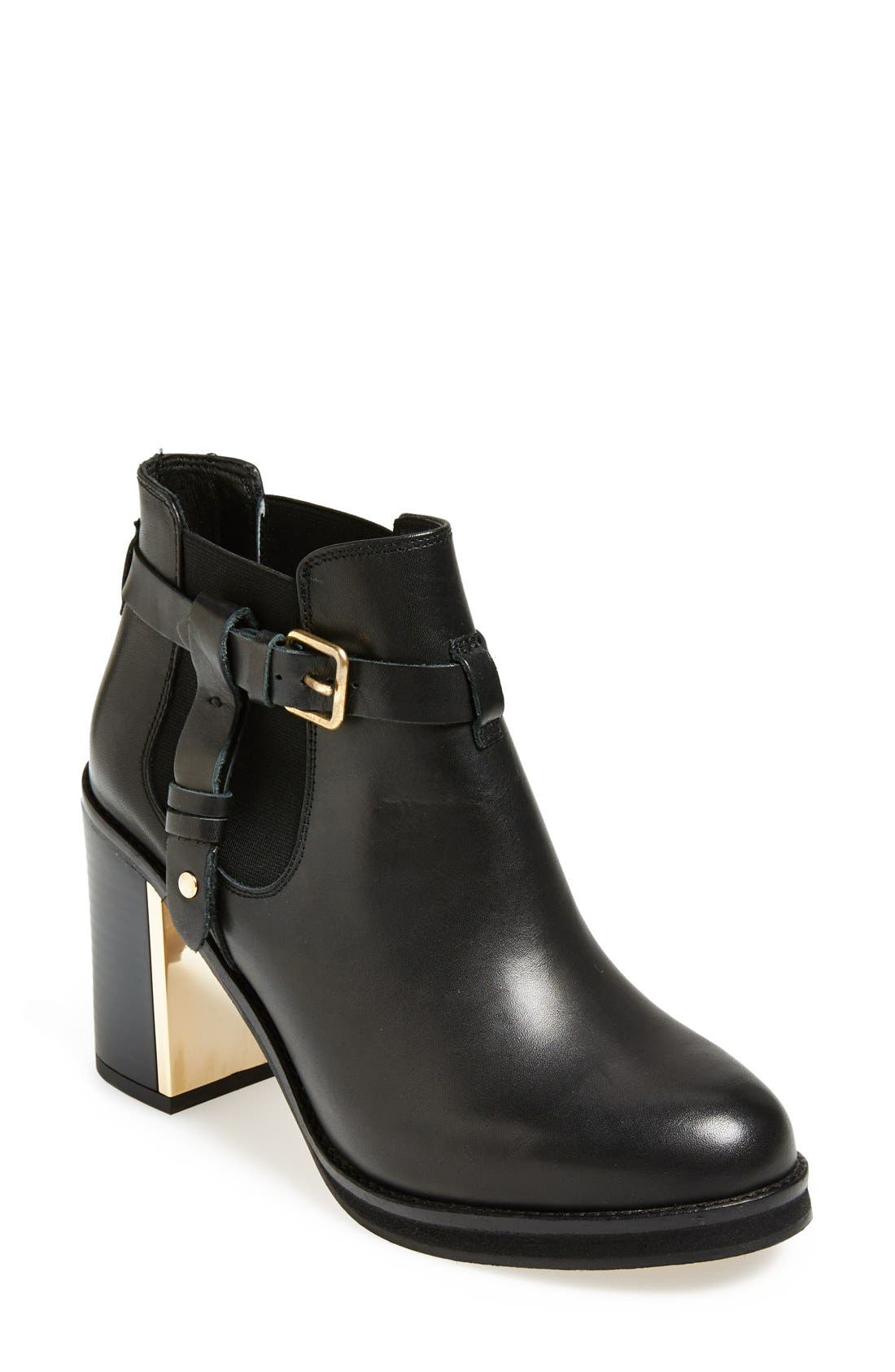 'Mine' Ankle Boot,                         Main,                         color, 001
