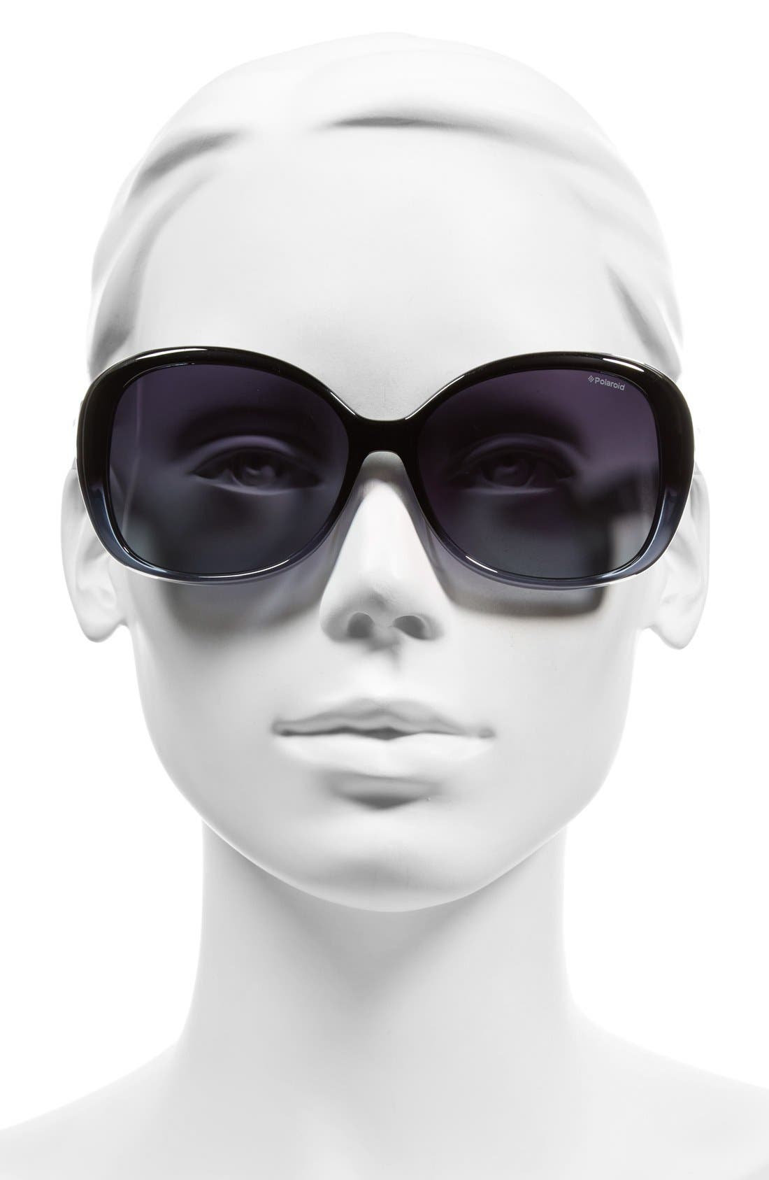 59mm Polarized Sunglasses,                             Alternate thumbnail 2, color,                             400