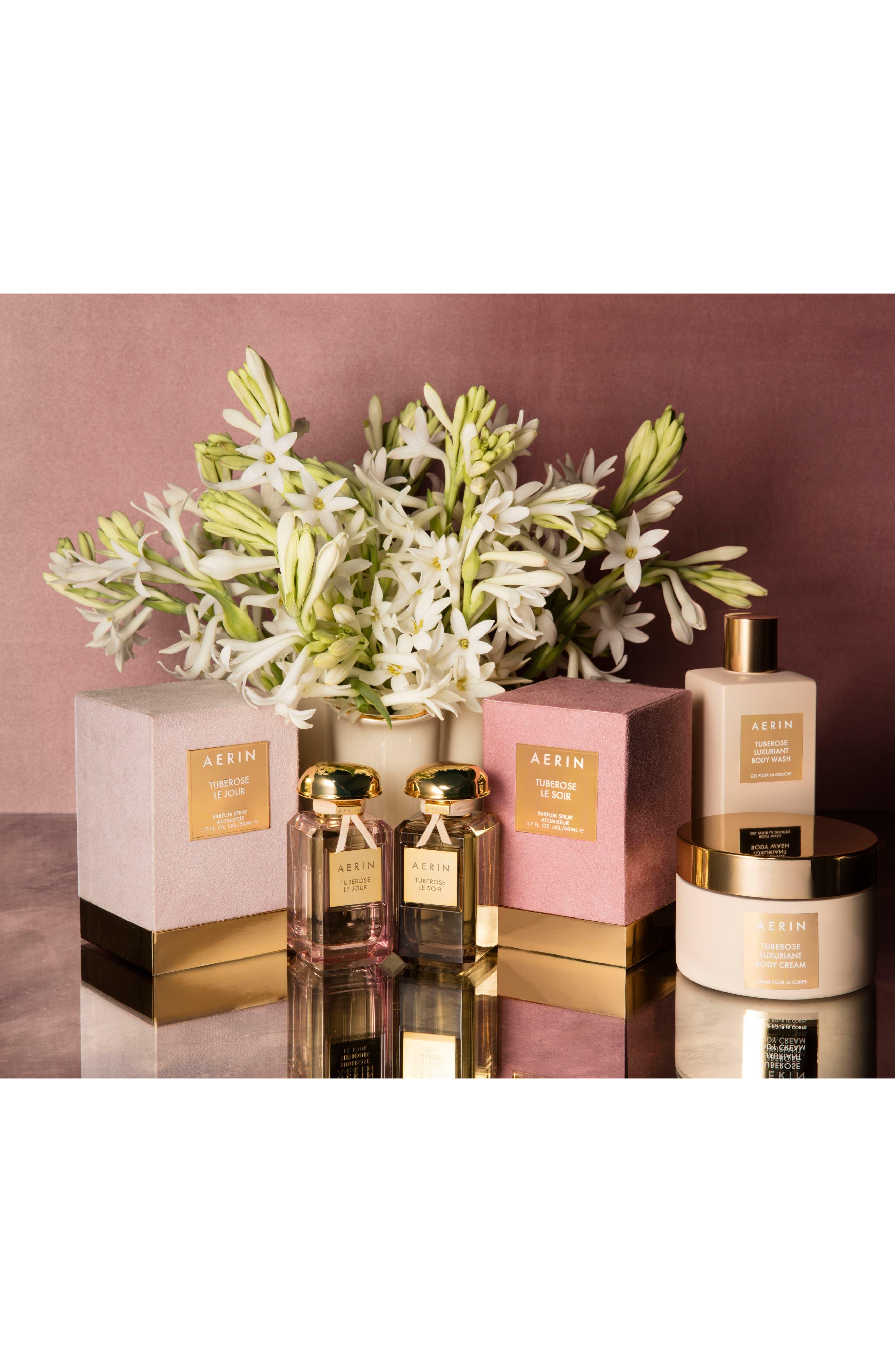 AERIN Beauty Tuberose Luxuriant Body Cream,                             Alternate thumbnail 3, color,