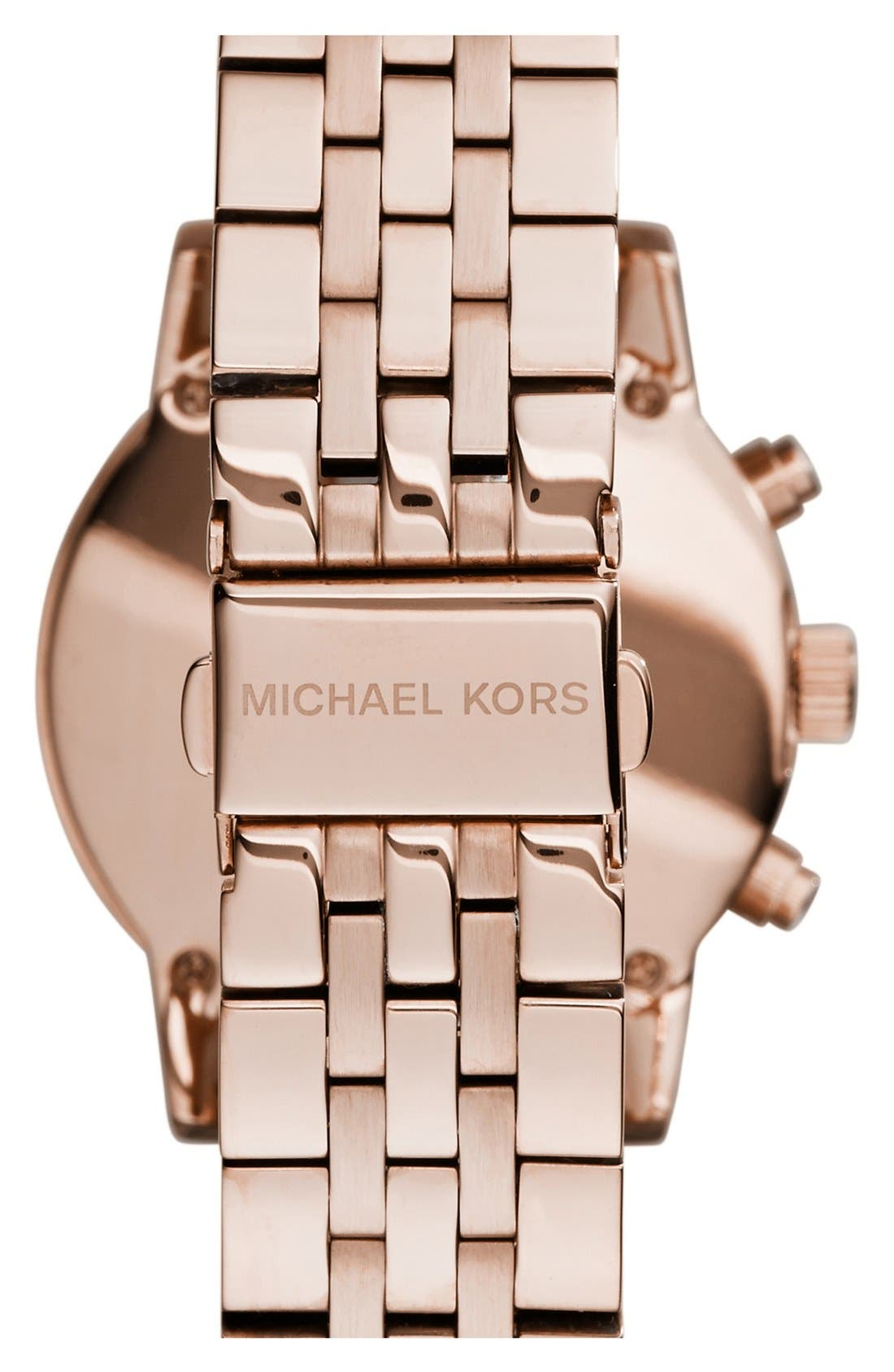 Michael Kors 'The Ritz' Chronograph Bracelet Watch, 36mm,                             Alternate thumbnail 17, color,
