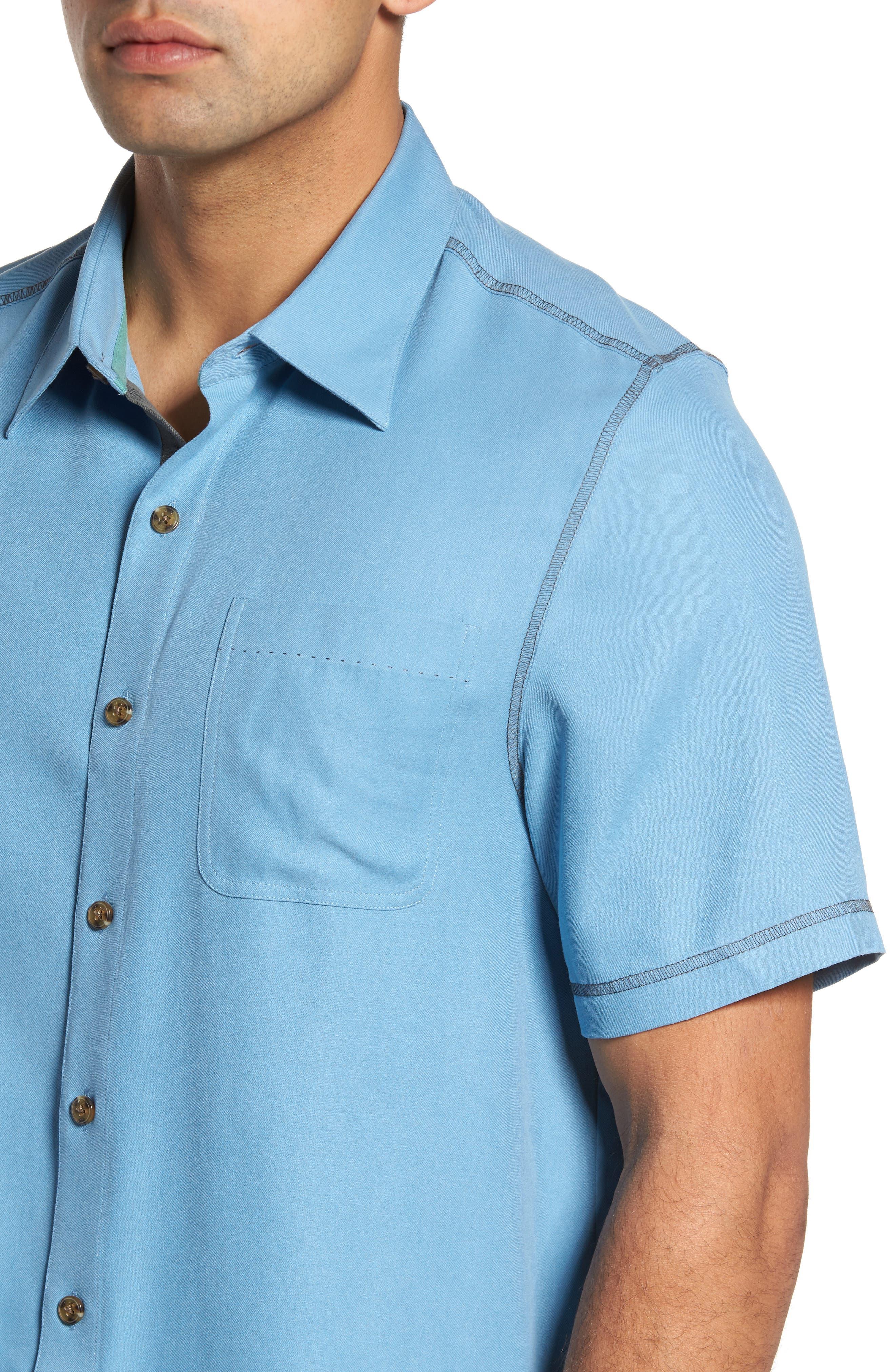 New Originals Silk Sport Shirt,                             Alternate thumbnail 12, color,