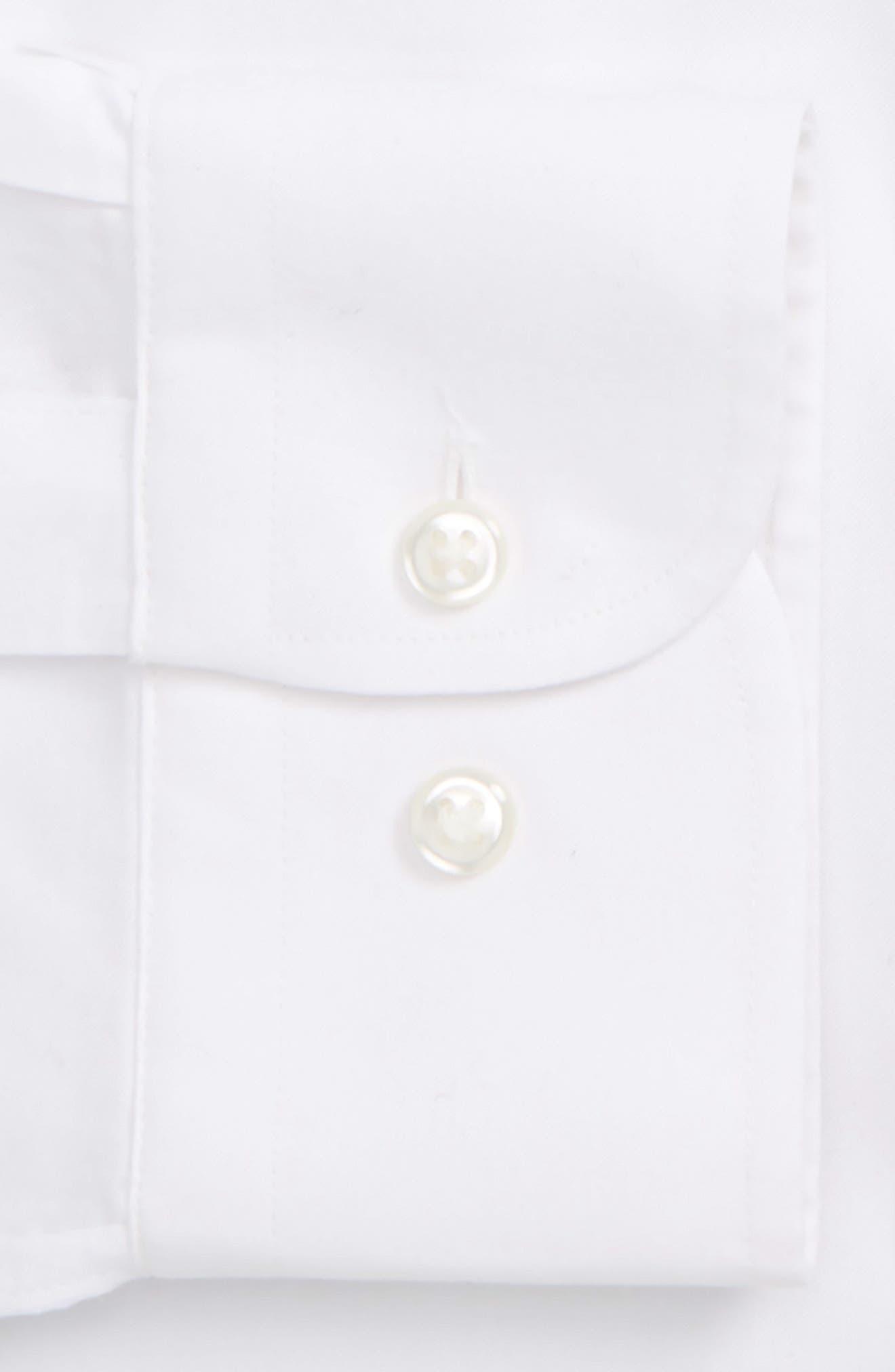 NORDSTROM MEN'S SHOP,                             Smartcare<sup>™</sup> Classic Fit Dress Shirt,                             Alternate thumbnail 2, color,                             WHITE BRILLIANT