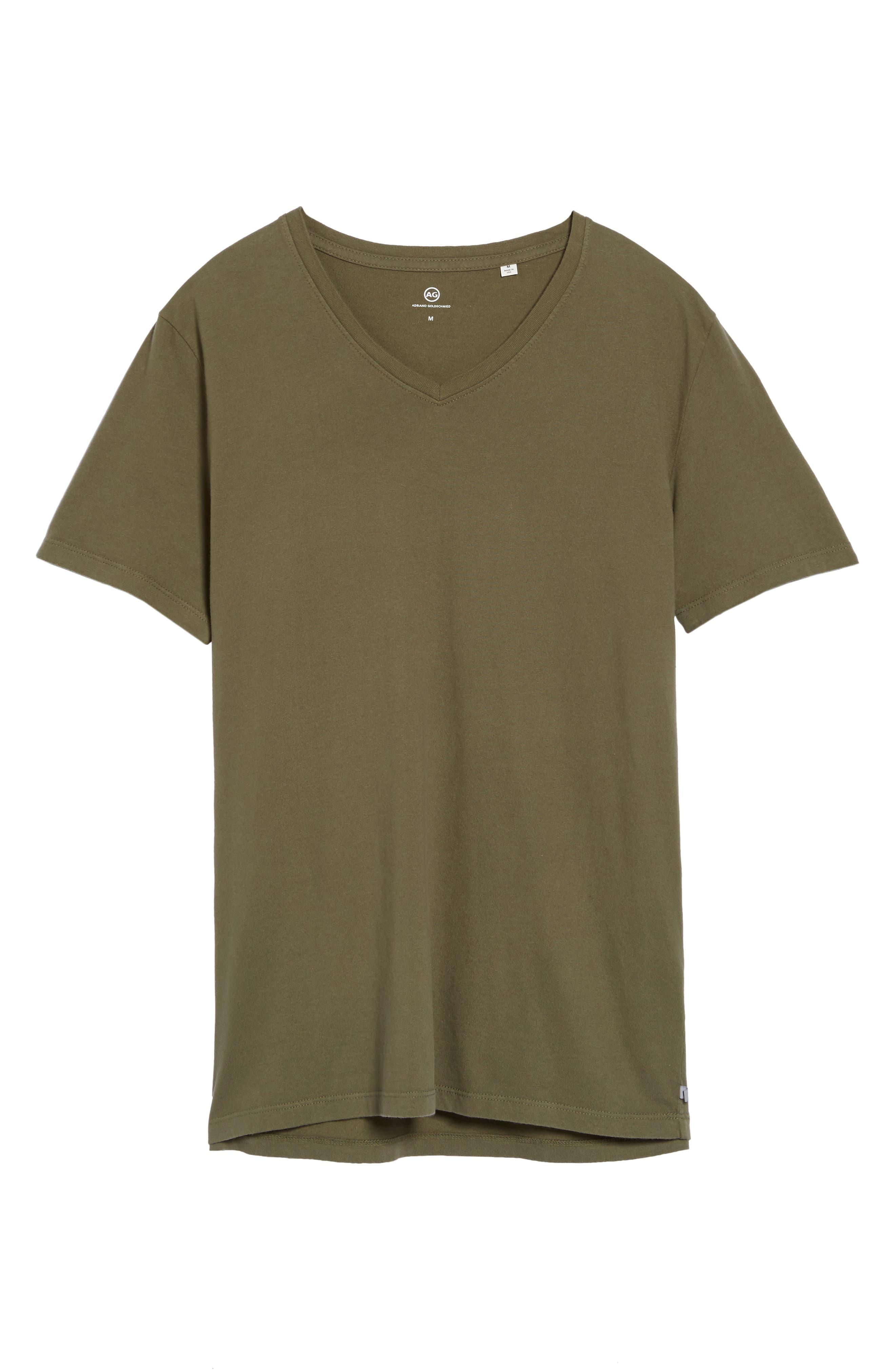 'Commute' V-Neck T-Shirt,                             Alternate thumbnail 6, color,                             396