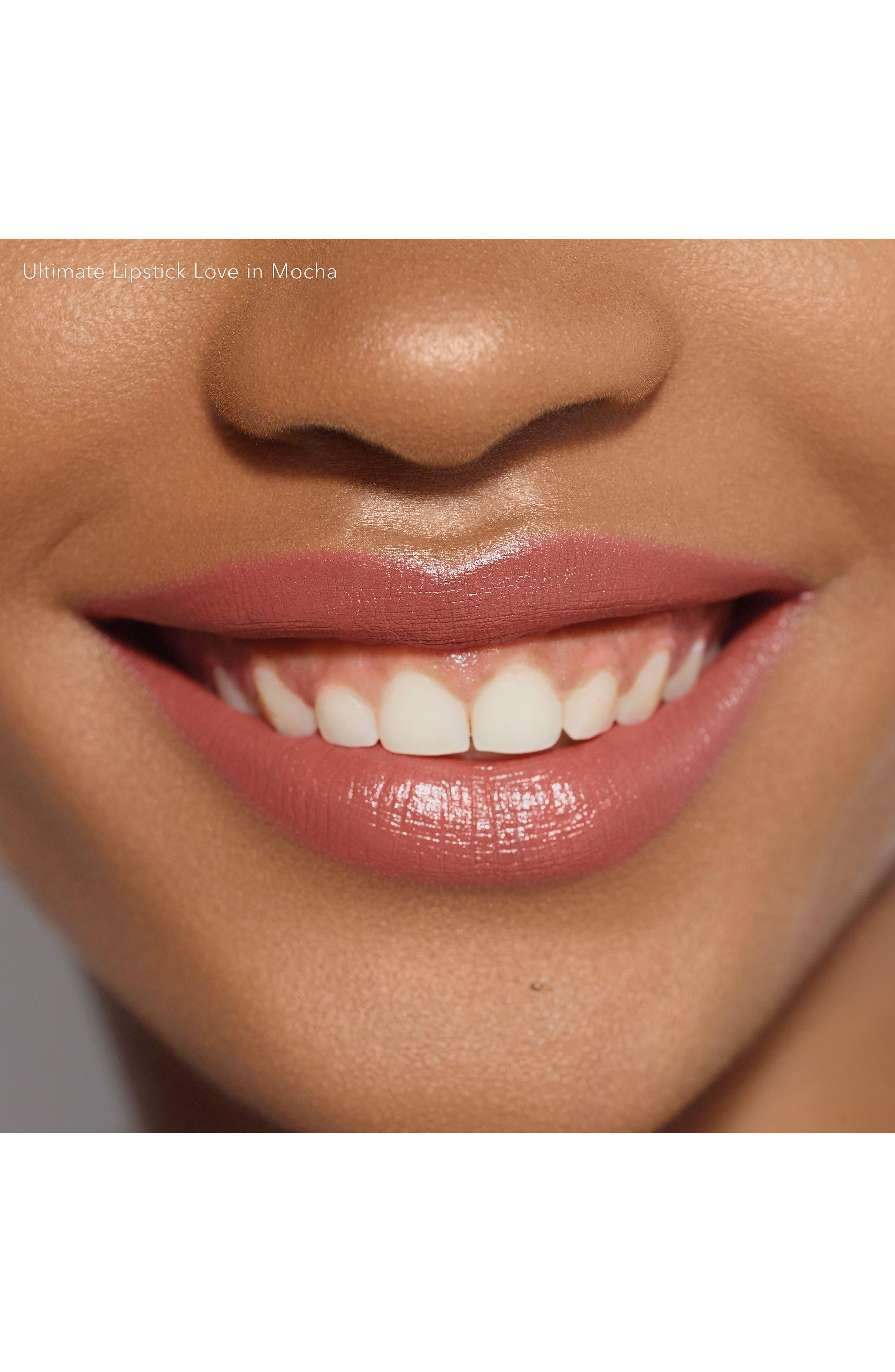 BECCA COSMETICS,                             BECCA Ultimate Lipstick Love,                             Alternate thumbnail 2, color,                             MOCHA