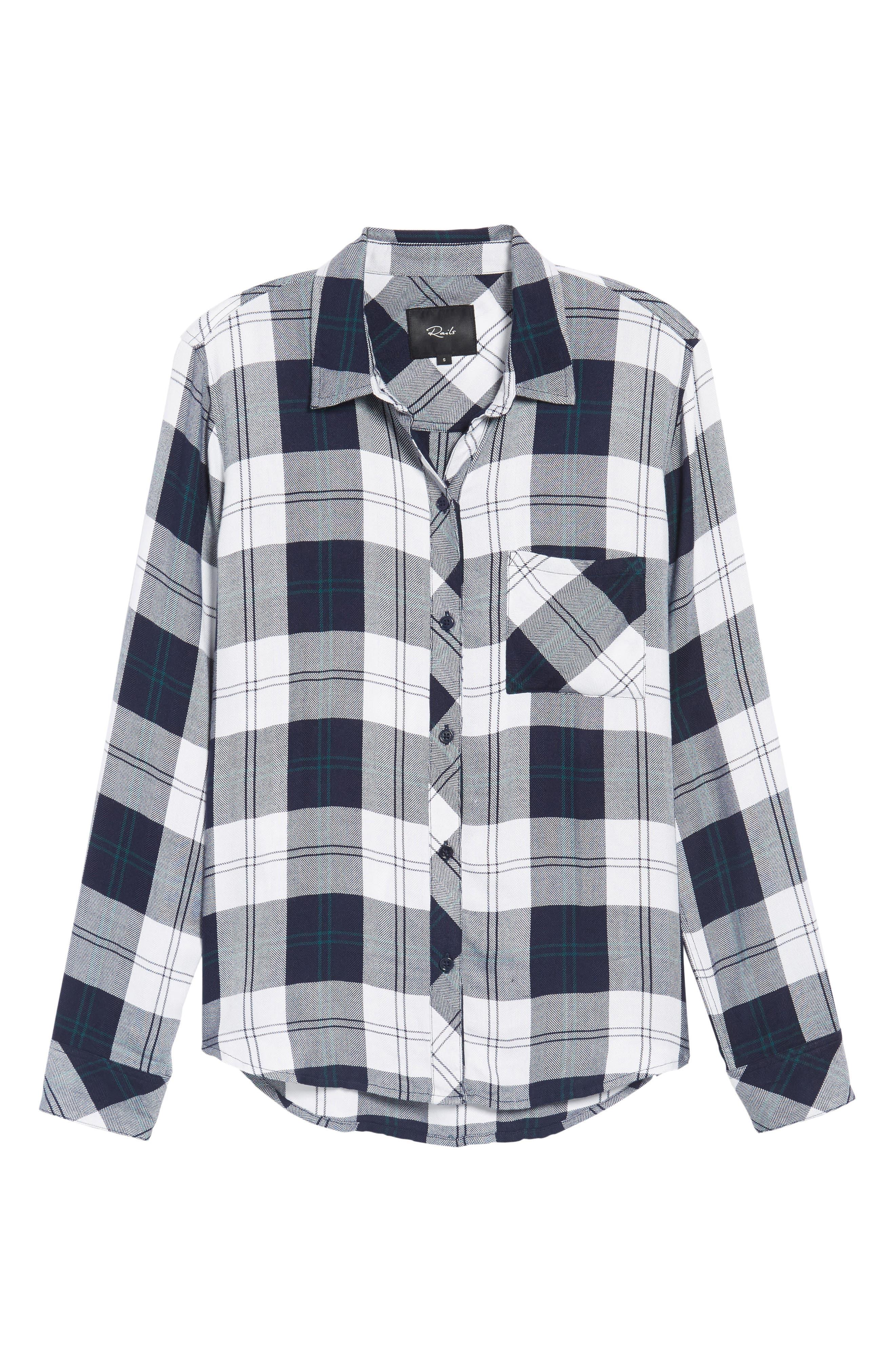 Hunter Plaid Shirt,                             Alternate thumbnail 682, color,