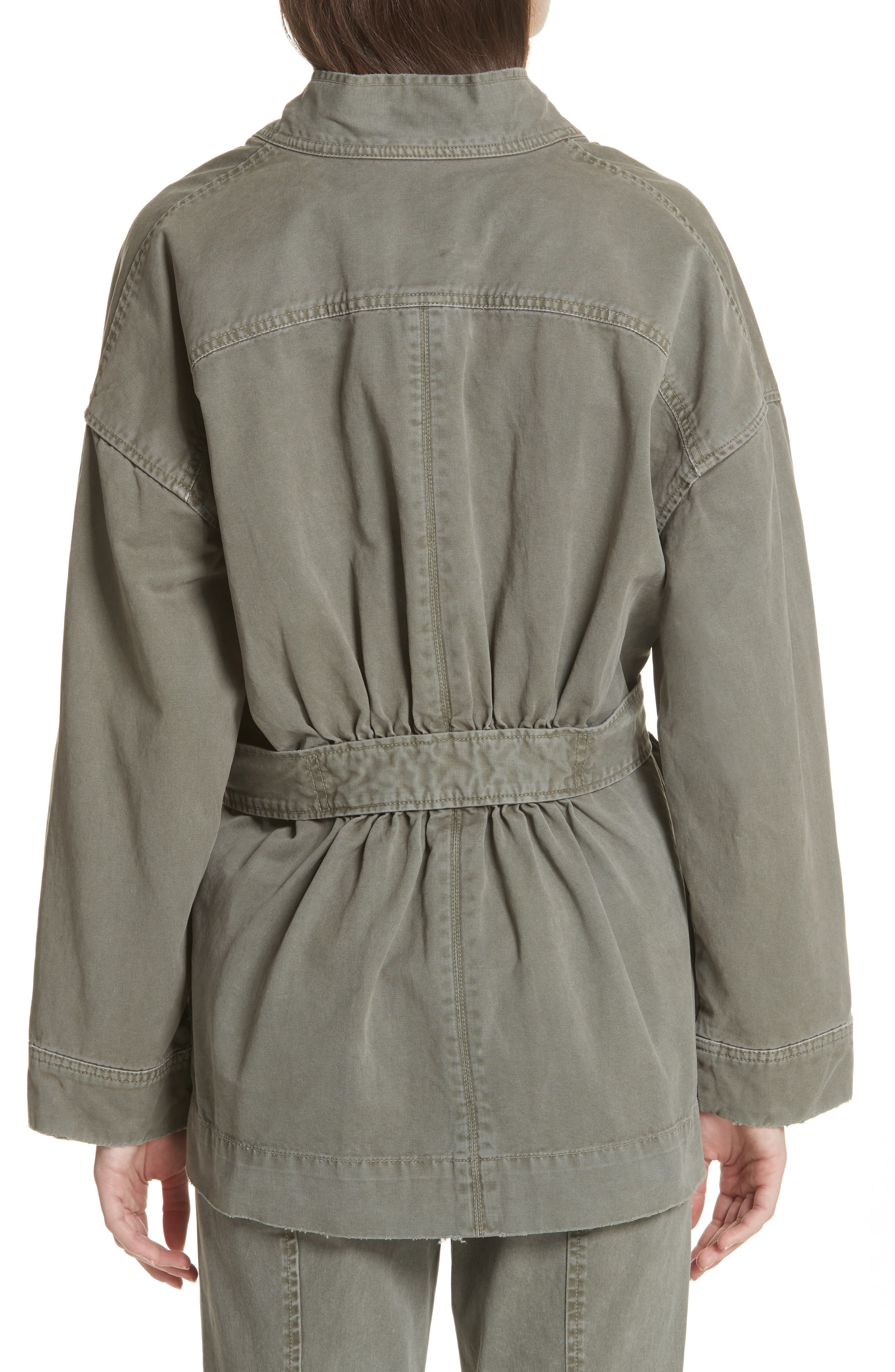 Belted Utility Jacket,                             Alternate thumbnail 2, color,                             318