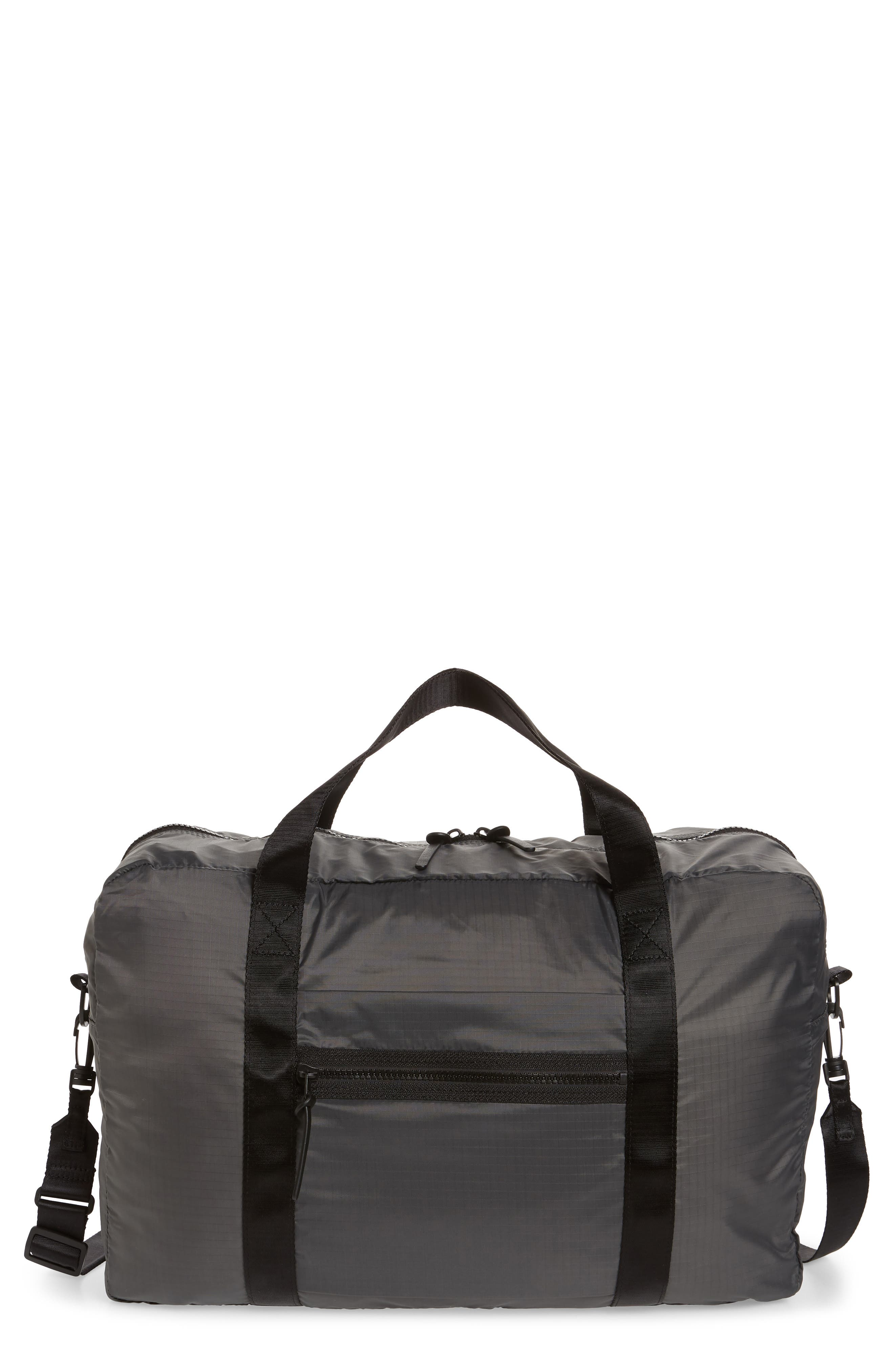 Packable Nylon Duffel Bag,                             Main thumbnail 2, color,