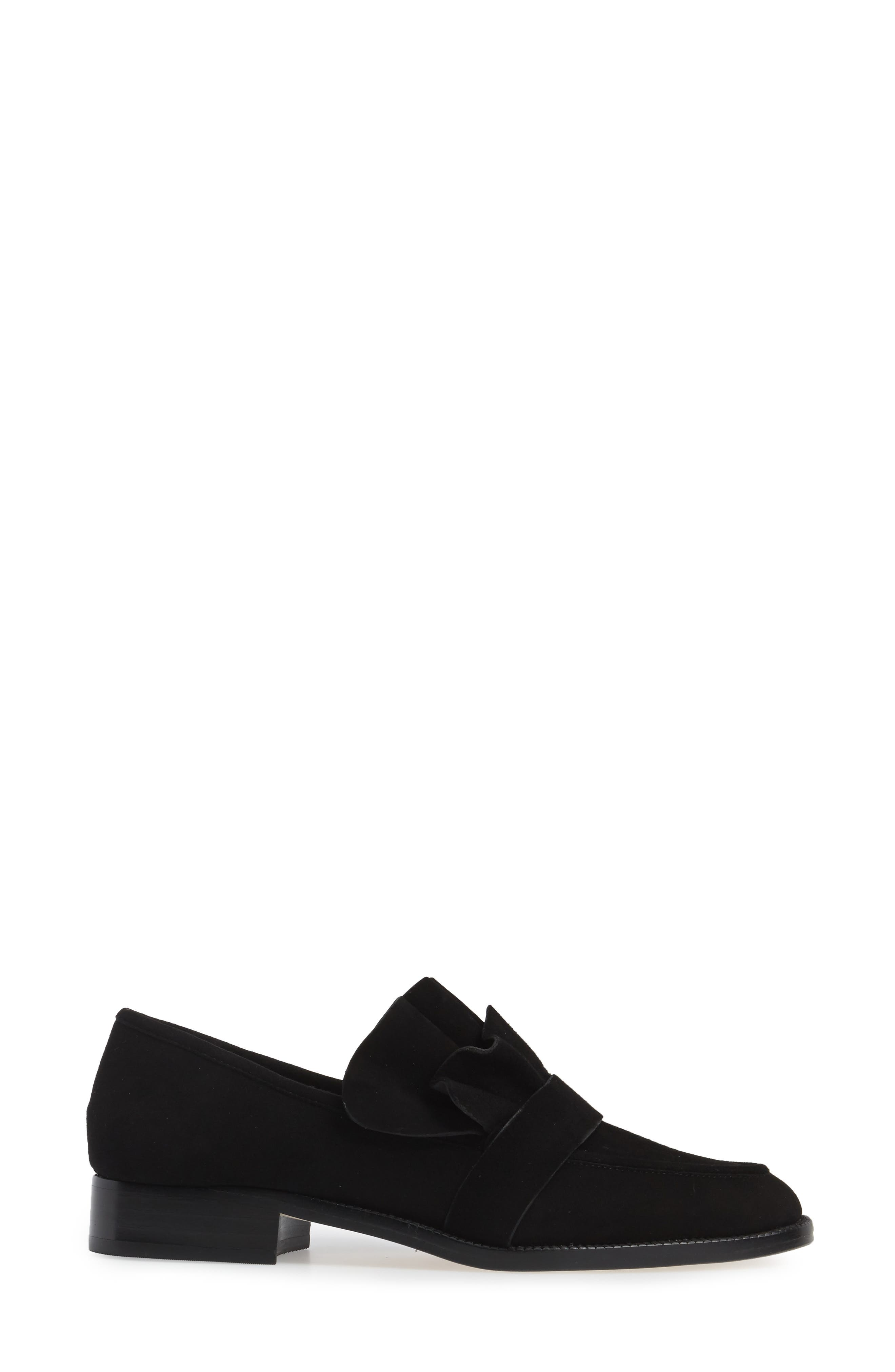 Tenley Ruffled Loafer,                             Alternate thumbnail 10, color,