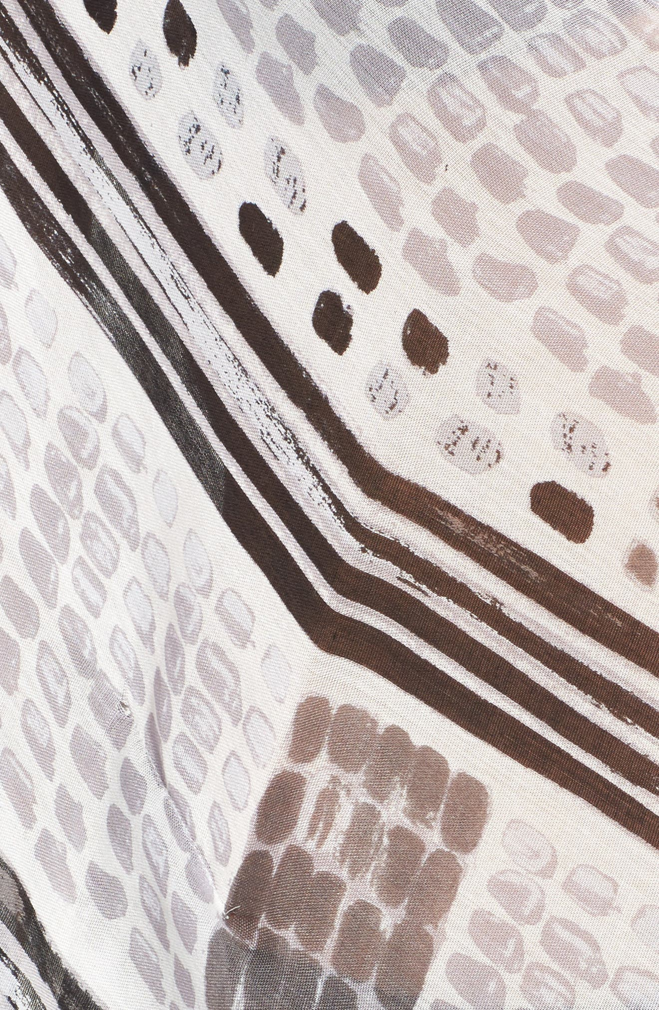 Caslon Print Tassel Wrap,                             Alternate thumbnail 5, color,                             030