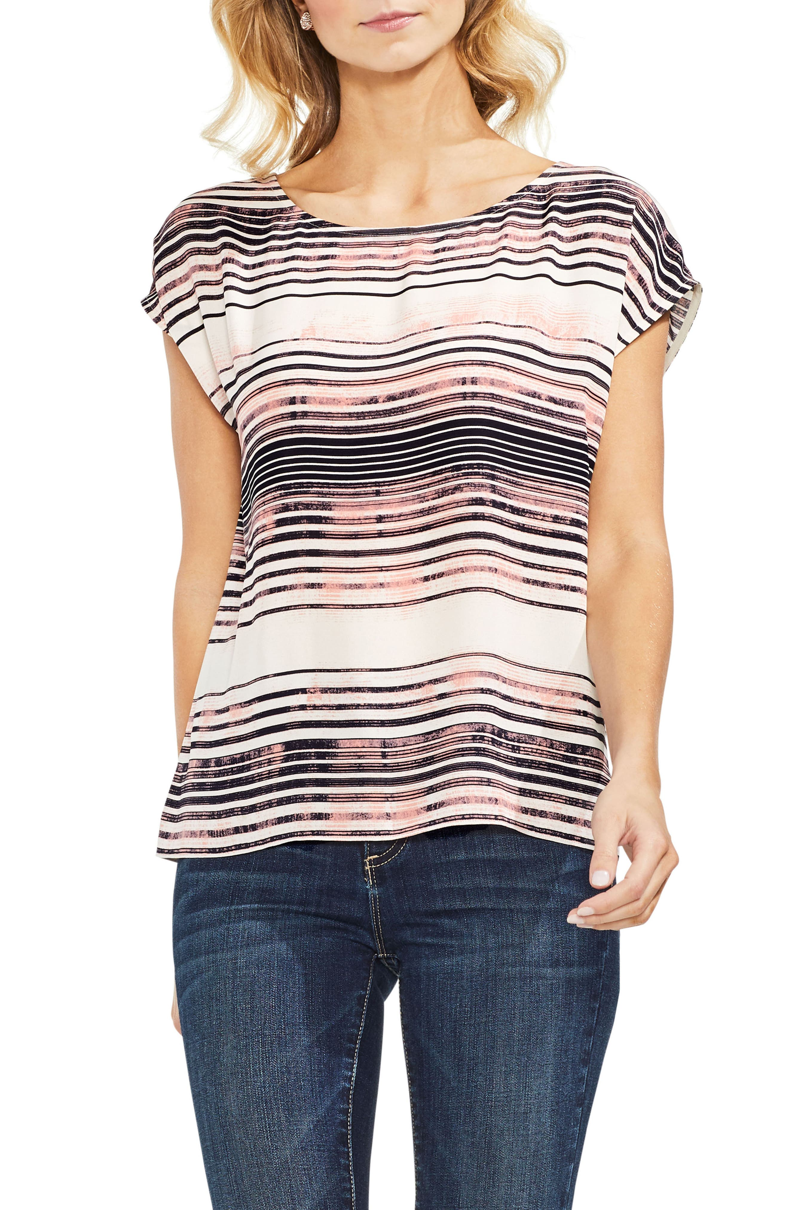 Ancient Muses Stripe Top,                             Main thumbnail 1, color,                             900