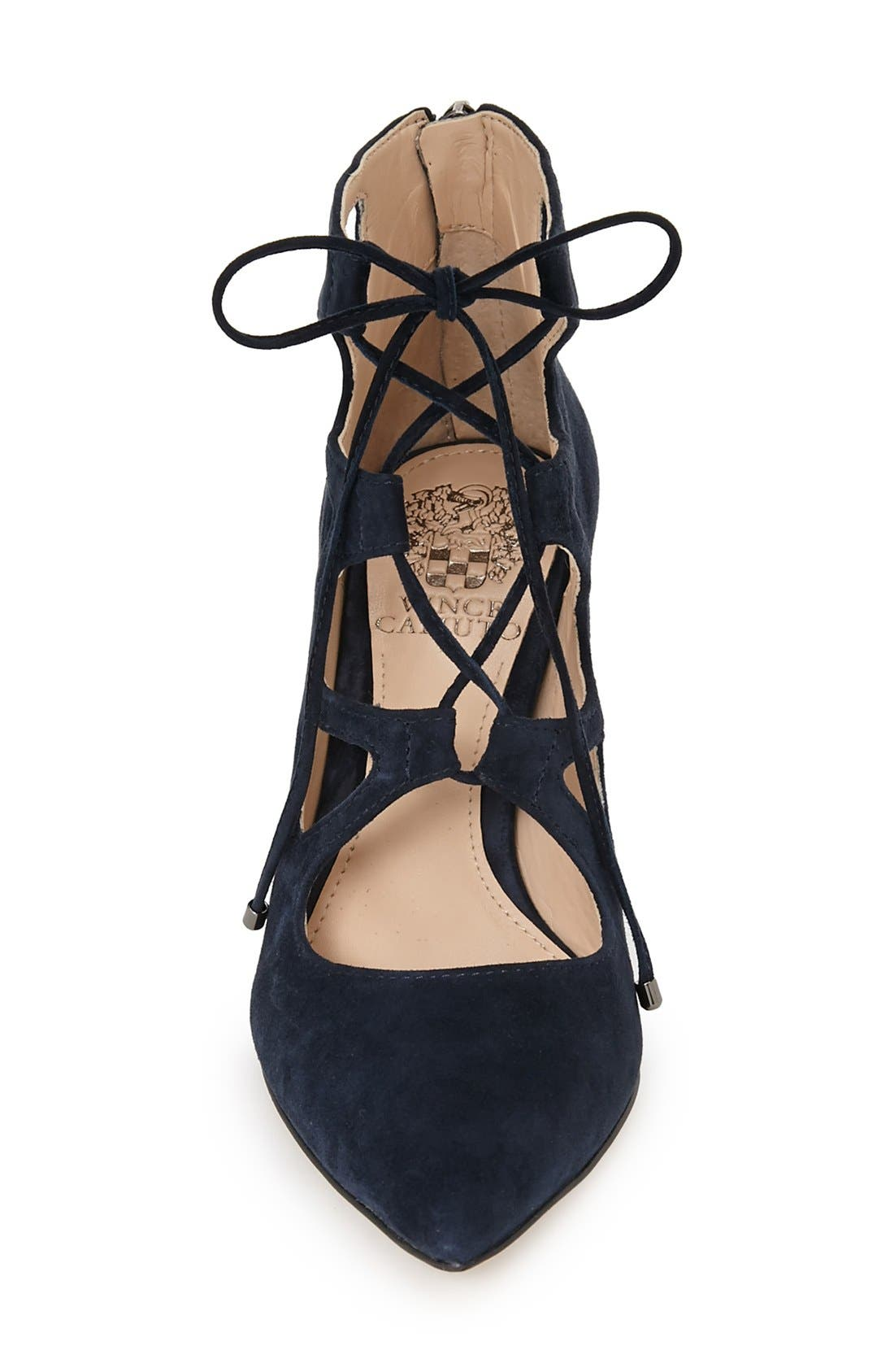 'Bodell' Lace Up Pump,                             Alternate thumbnail 19, color,
