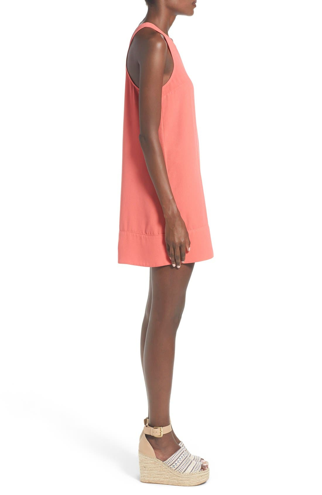 Racerback Shift Dress,                             Alternate thumbnail 149, color,