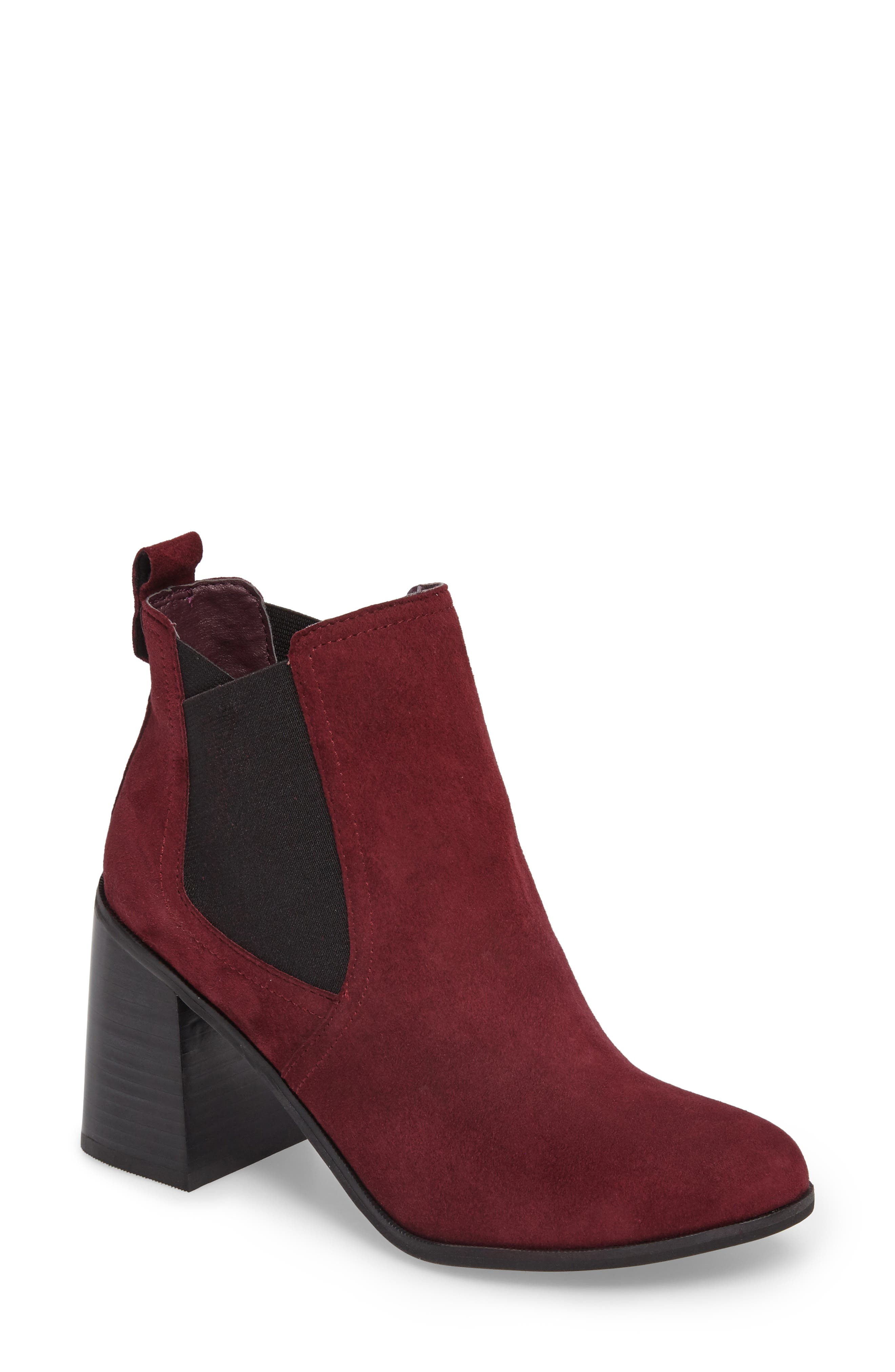 Quinn Flared Heel Chelsea Bootie,                             Main thumbnail 5, color,