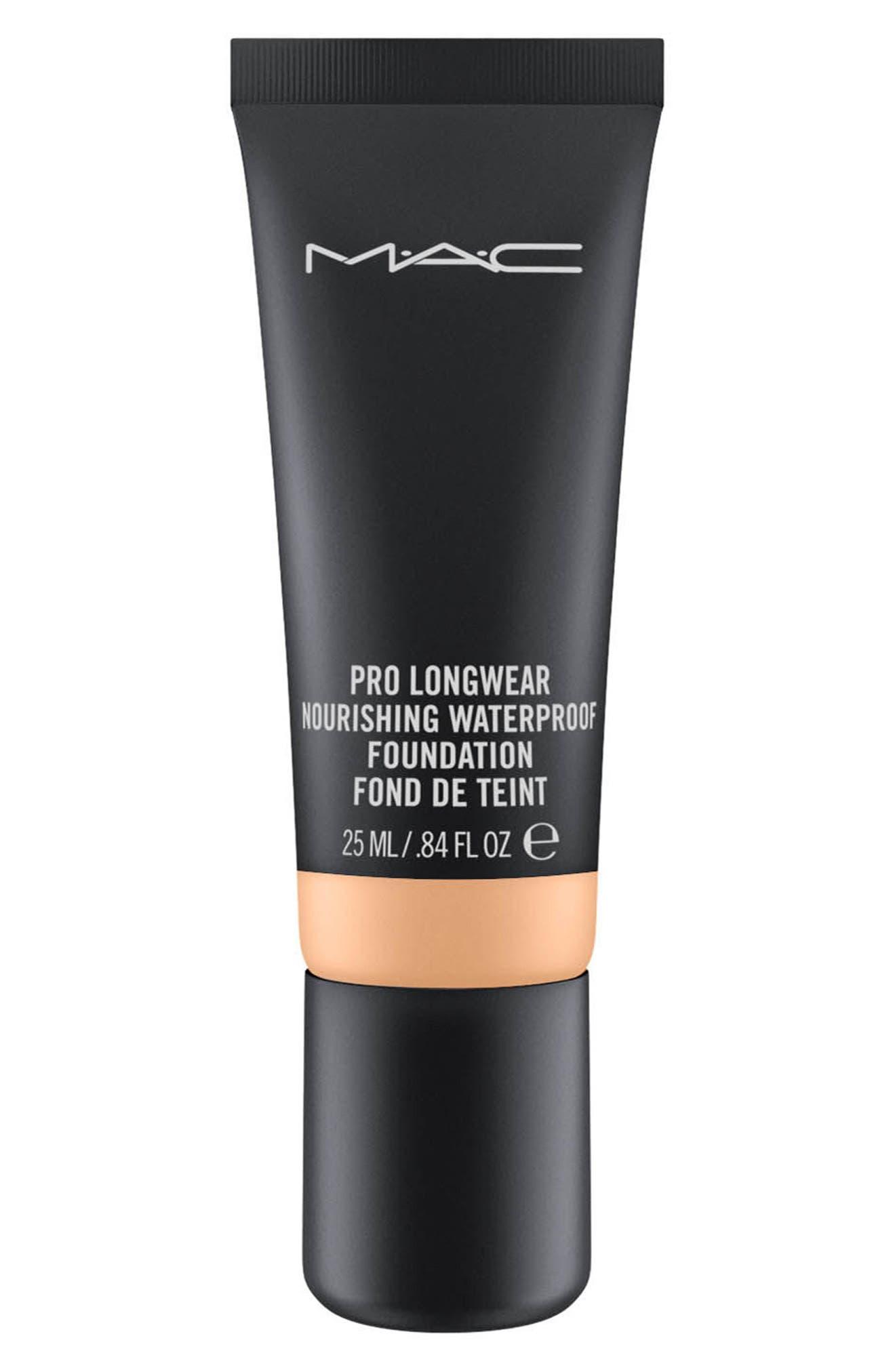 MAC Pro Longwear Nourishing Waterproof Foundation,                             Main thumbnail 1, color,                             NC47