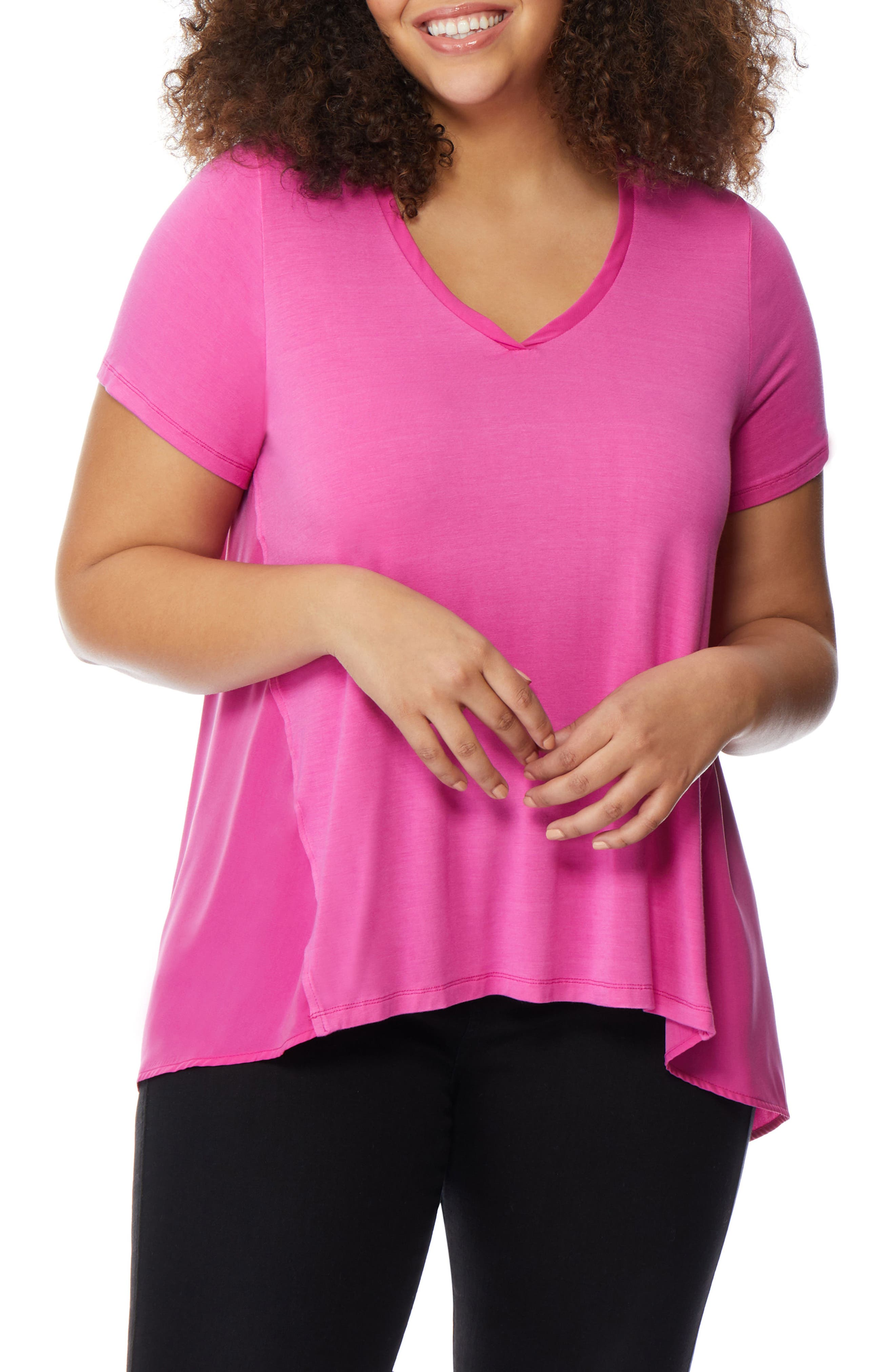 Knit to Woven Tee,                             Alternate thumbnail 3, color,                             651