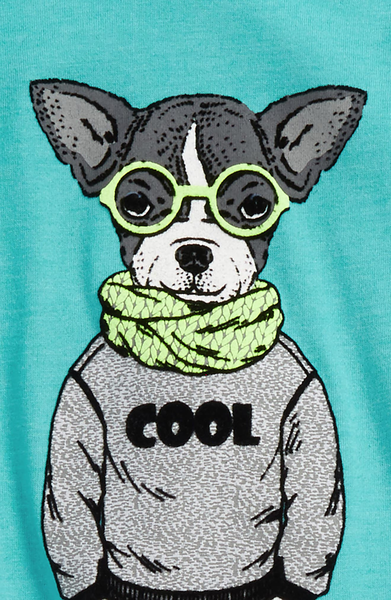 Nerdy Layered Shirt & Sweatpants Set,                             Alternate thumbnail 2, color,