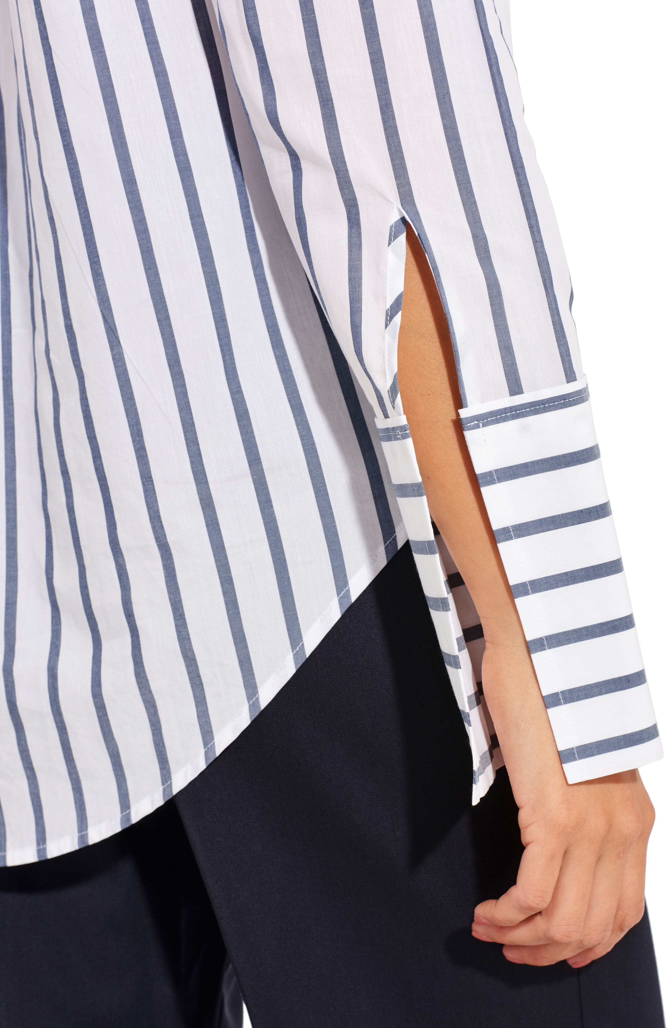 The Great Hope Stripe Shirt,                             Alternate thumbnail 4, color,