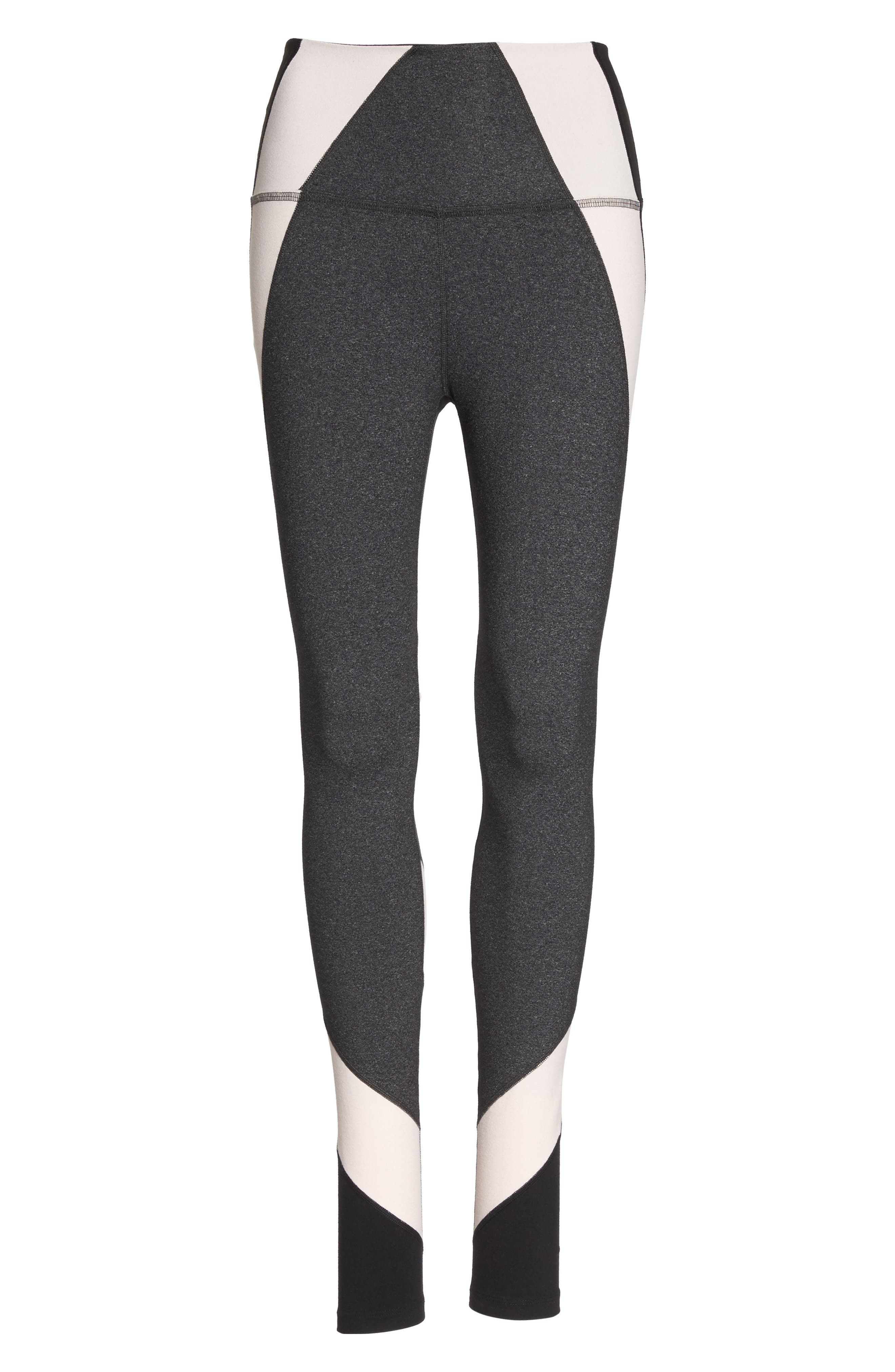 Around the Colorblock High Waist Leggings,                             Alternate thumbnail 7, color,                             062
