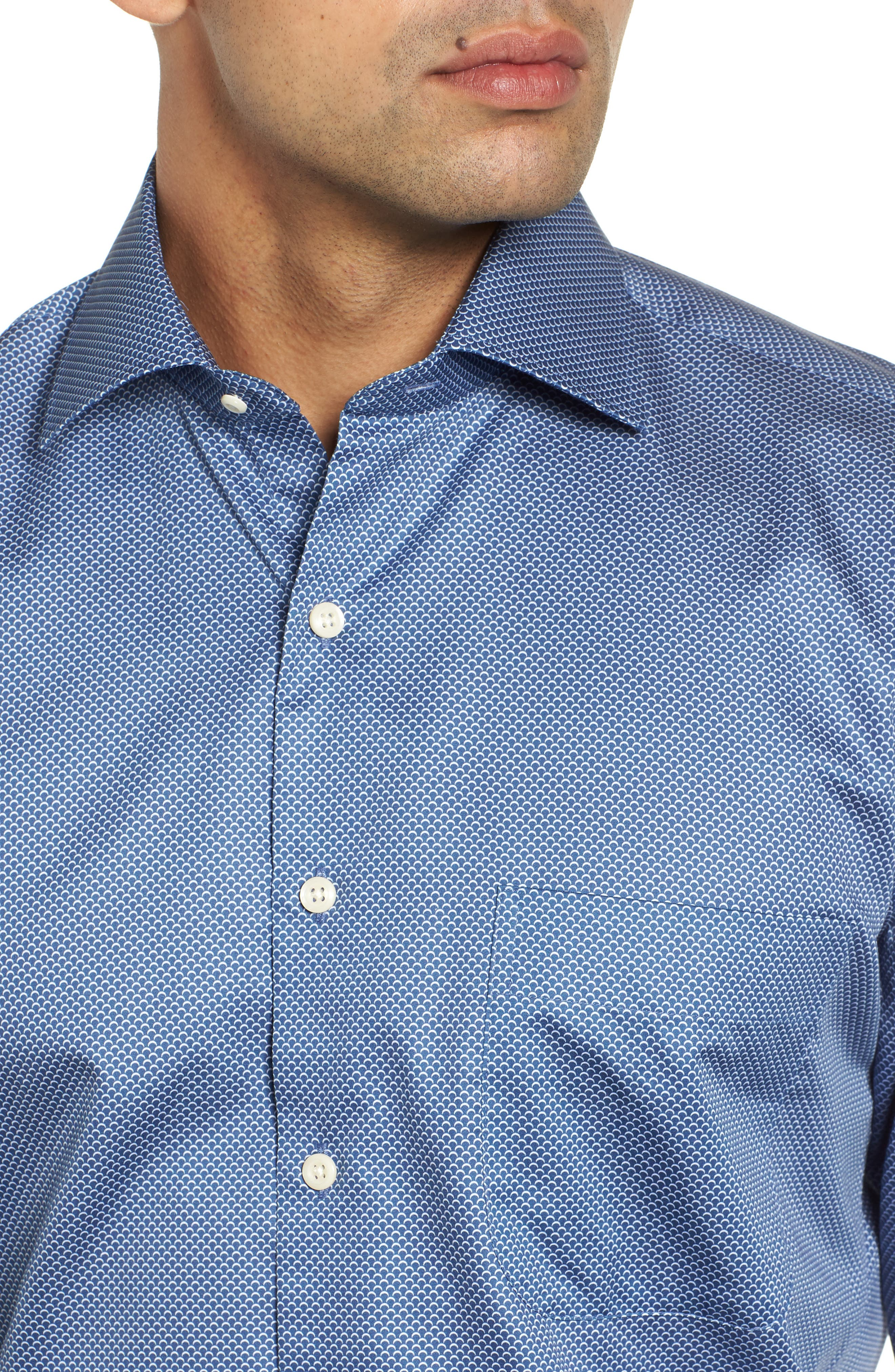 Off the Scale Sport Shirt,                             Alternate thumbnail 2, color,                             YANKEE BLUE
