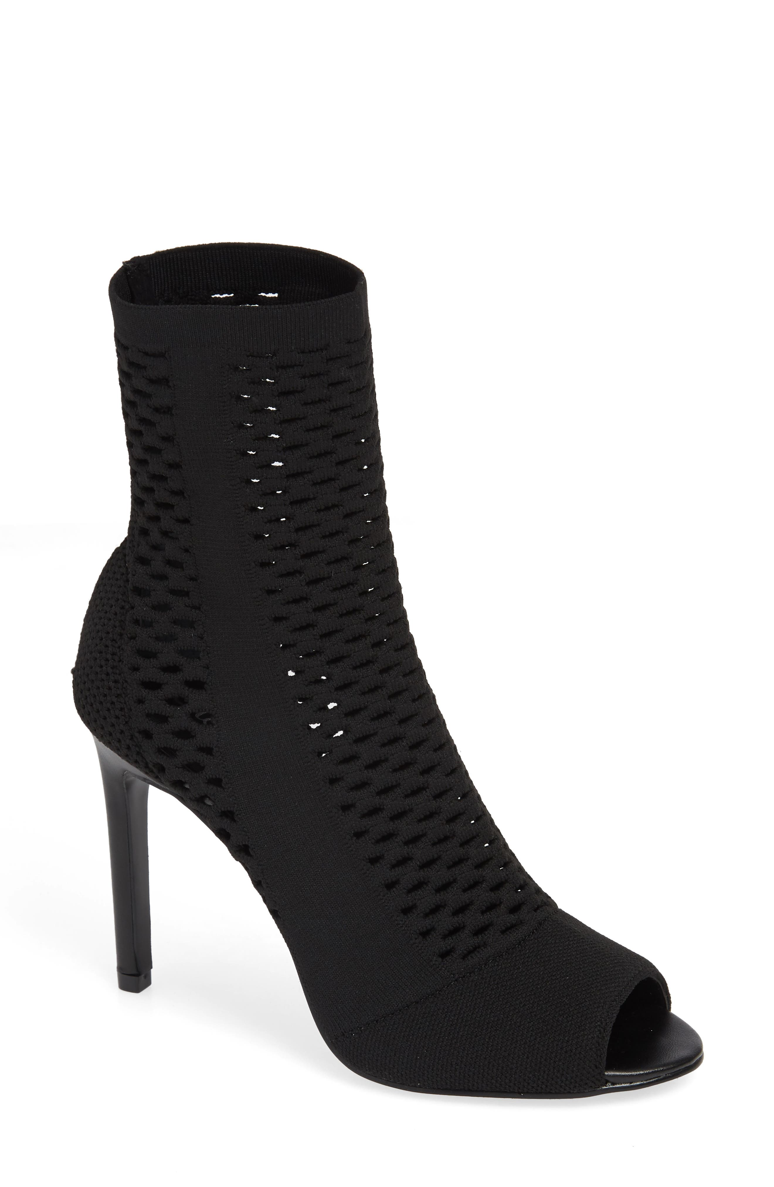 CHARLES BY CHARLES DAVID Inspector Bootie, Main, color, BLACK FABRIC