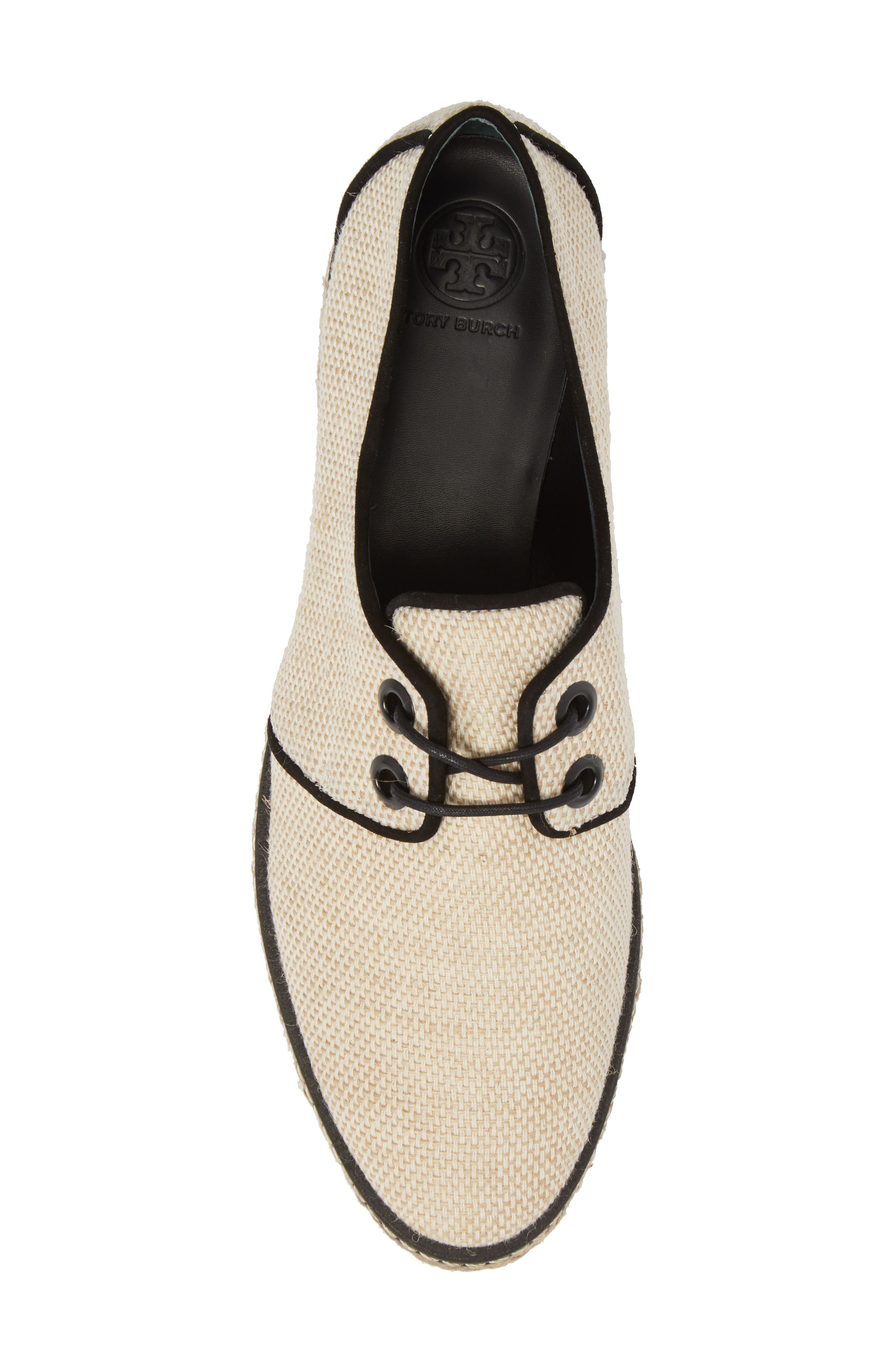 Fawn Espadrille Oxford,                             Alternate thumbnail 5, color,                             254