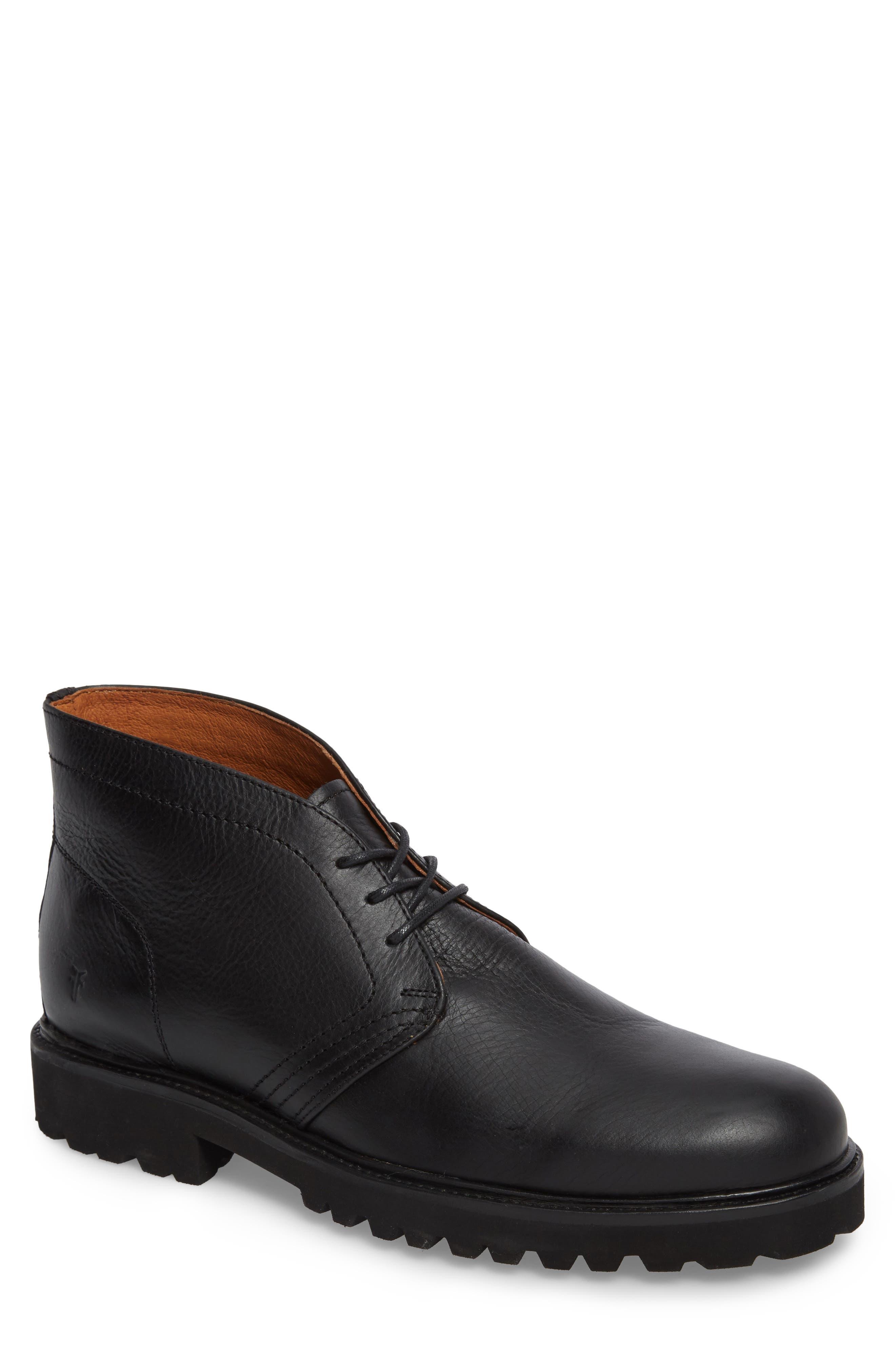 Edwin Waterproof Chukka Boot,                         Main,                         color, 001