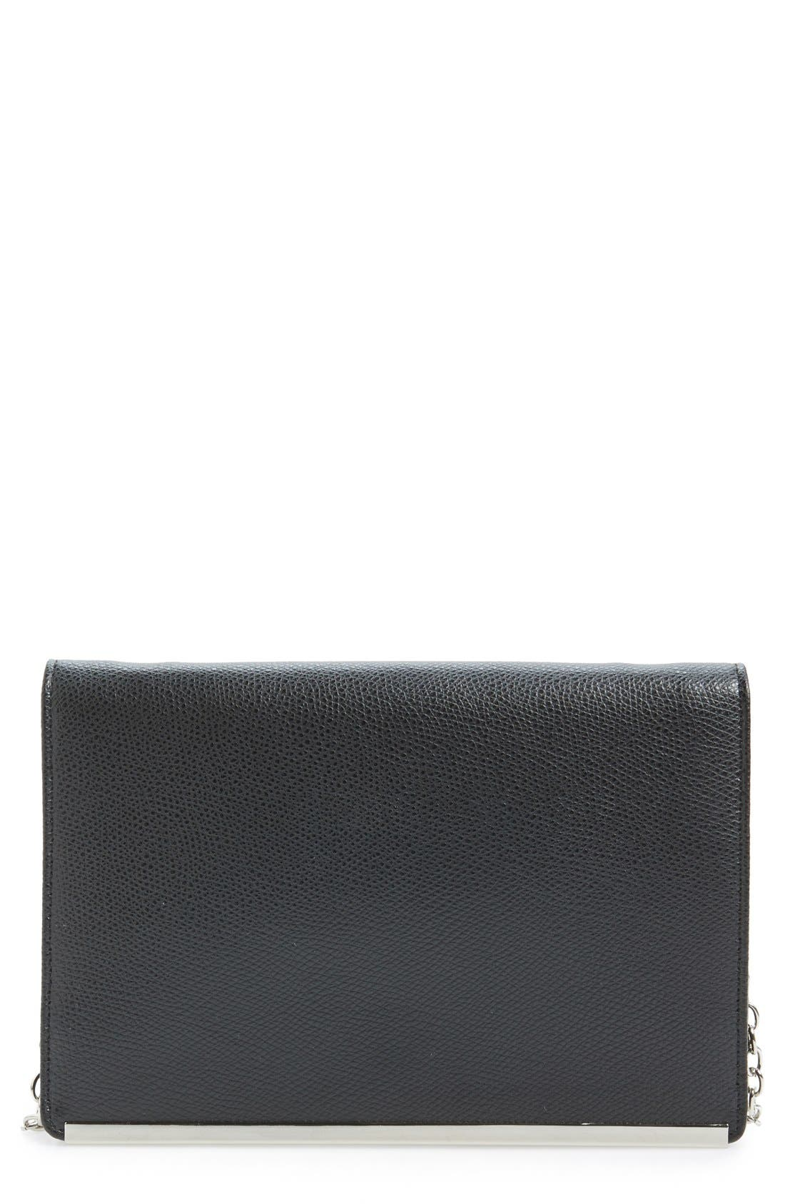 Crossbody Clutch Wallet, Main, color, 001