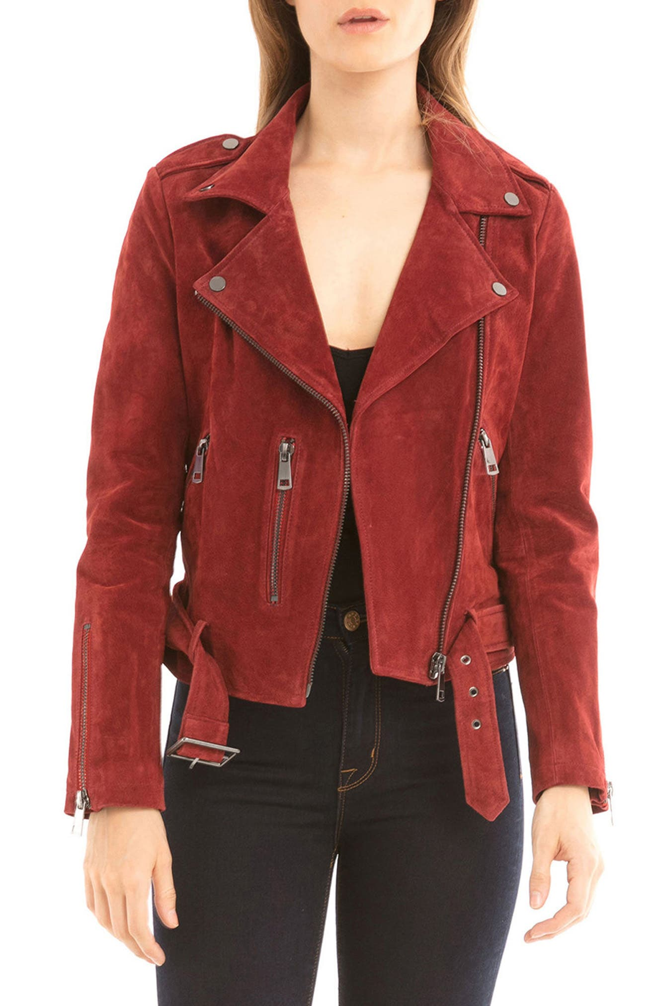 NYC  Suede Jacket,                             Main thumbnail 8, color,