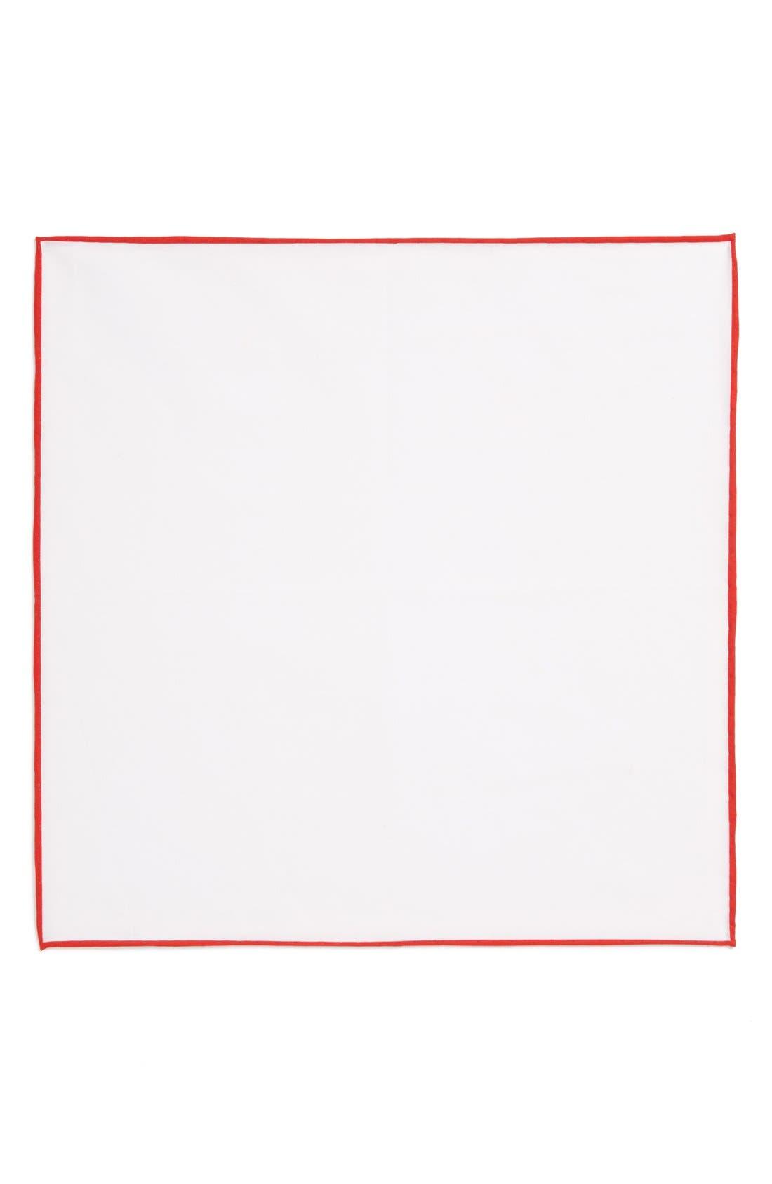 Cotton Solid Pocket Square,                             Alternate thumbnail 17, color,