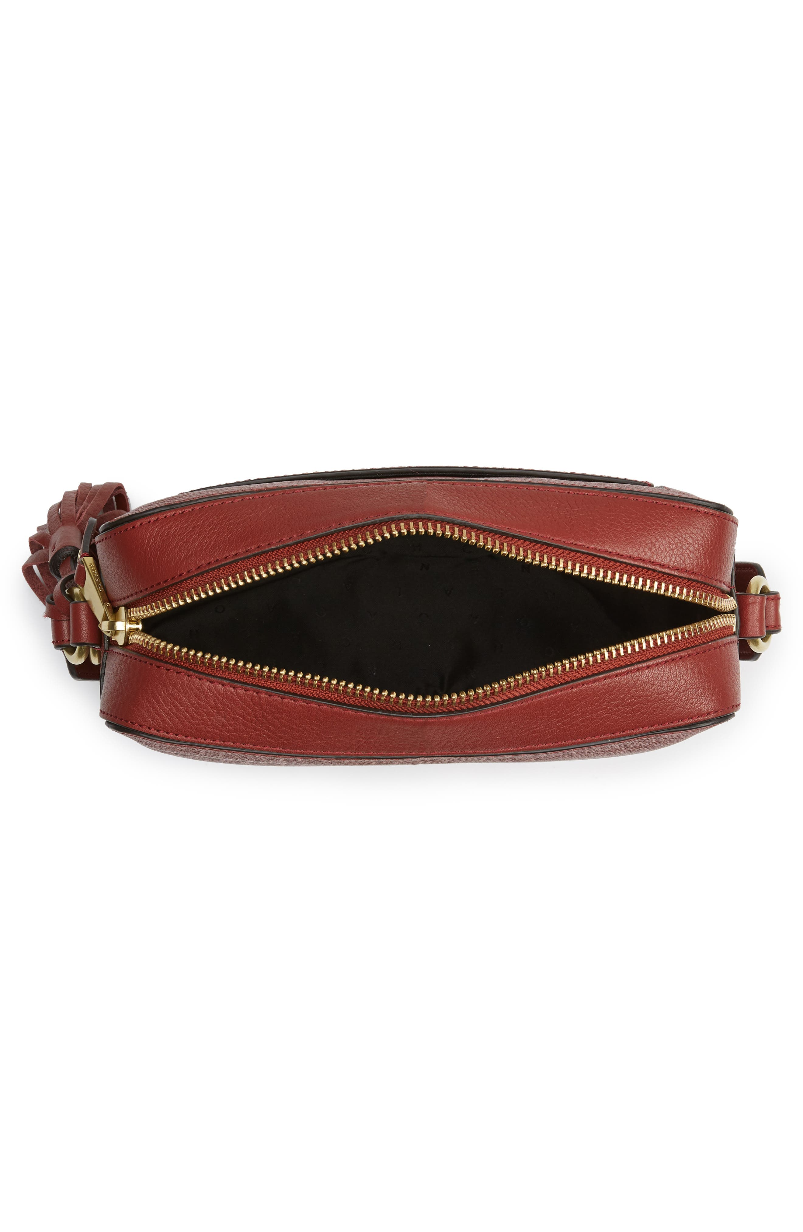 Cassidy RFID Pebbled Leather Camera Bag,                             Alternate thumbnail 14, color,