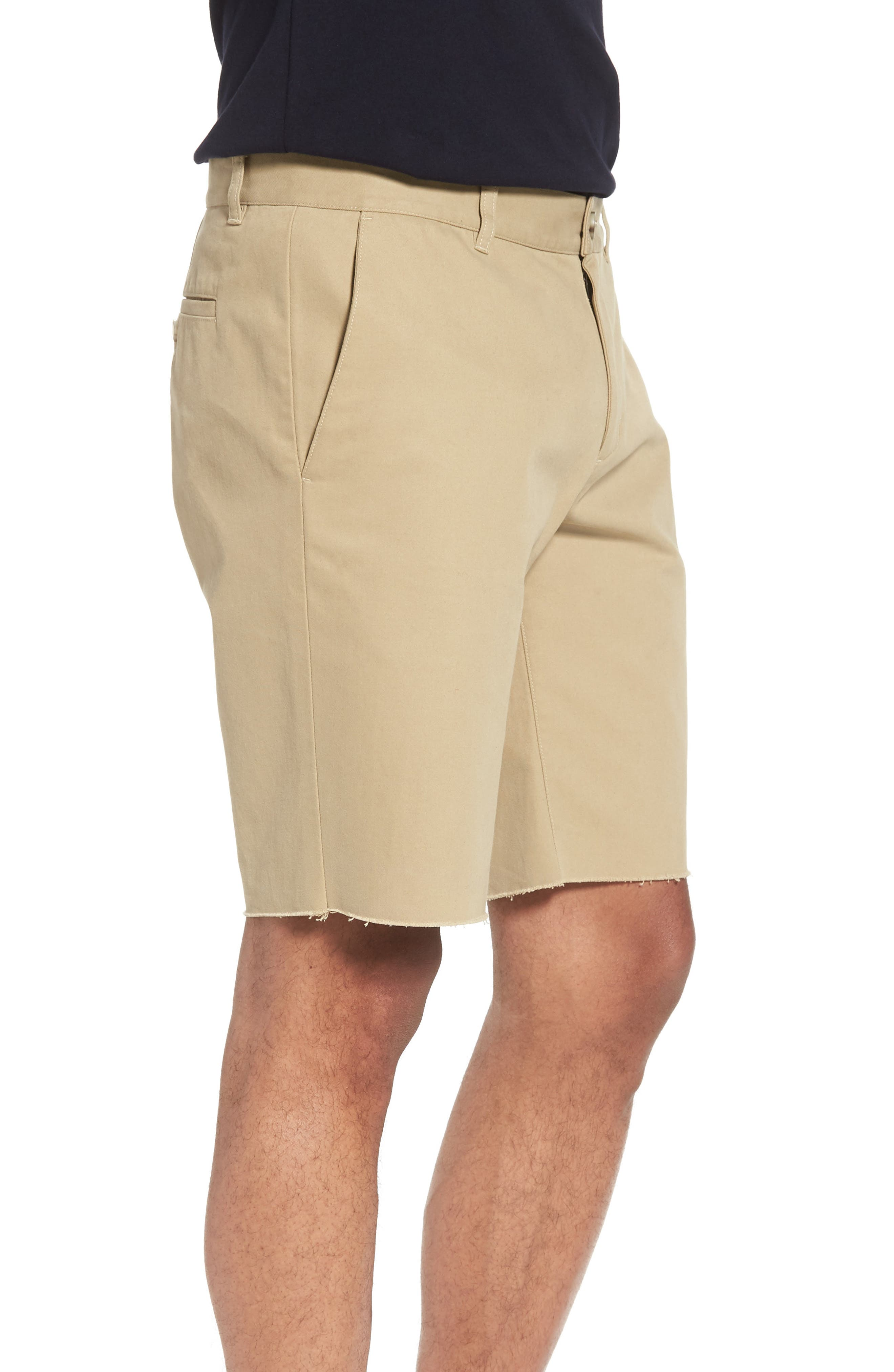 Slim Fit Chino Shorts,                             Alternate thumbnail 3, color,                             250