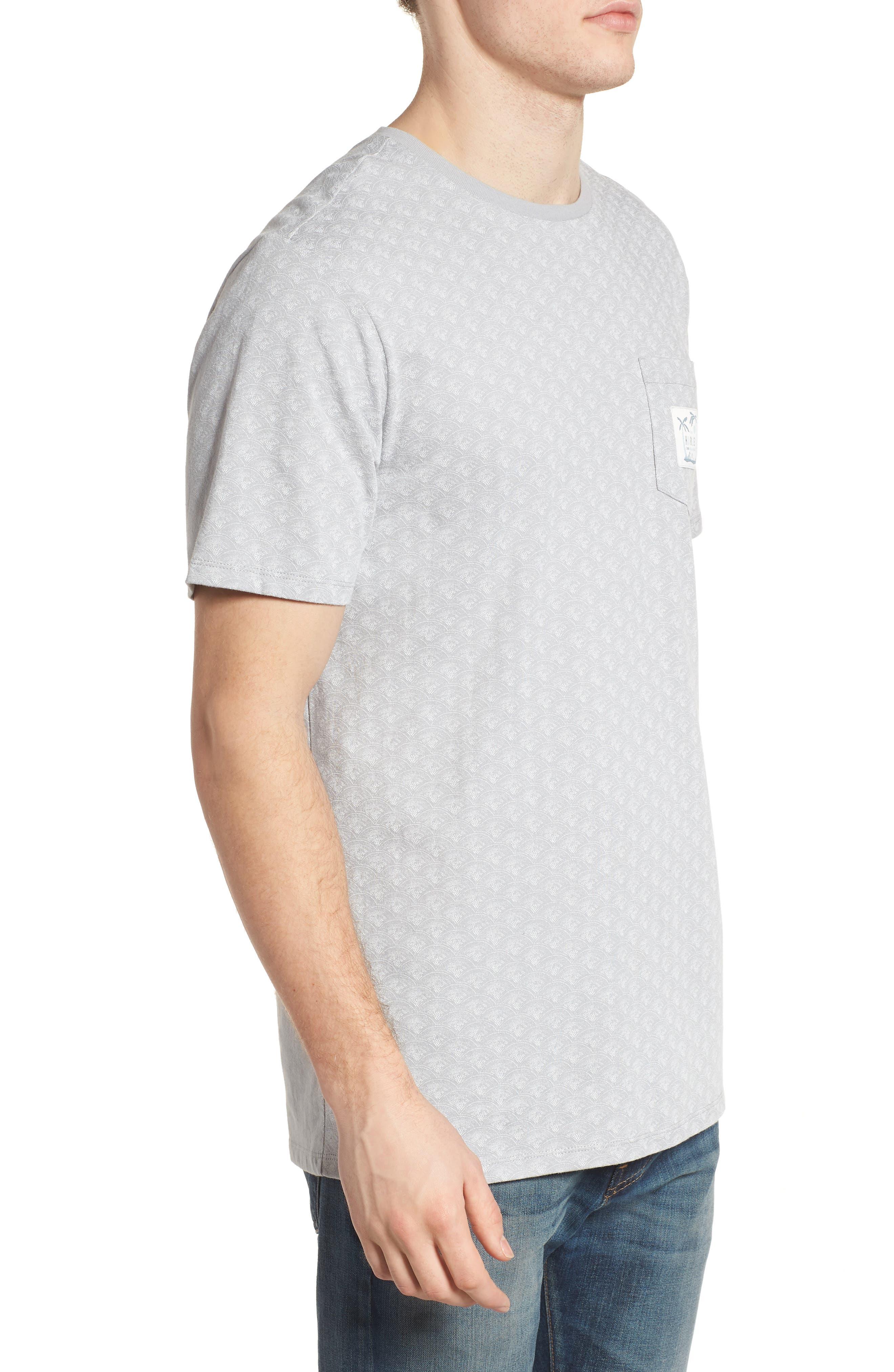 Pescado Short Sleeve T-Shirt,                             Alternate thumbnail 3, color,                             133