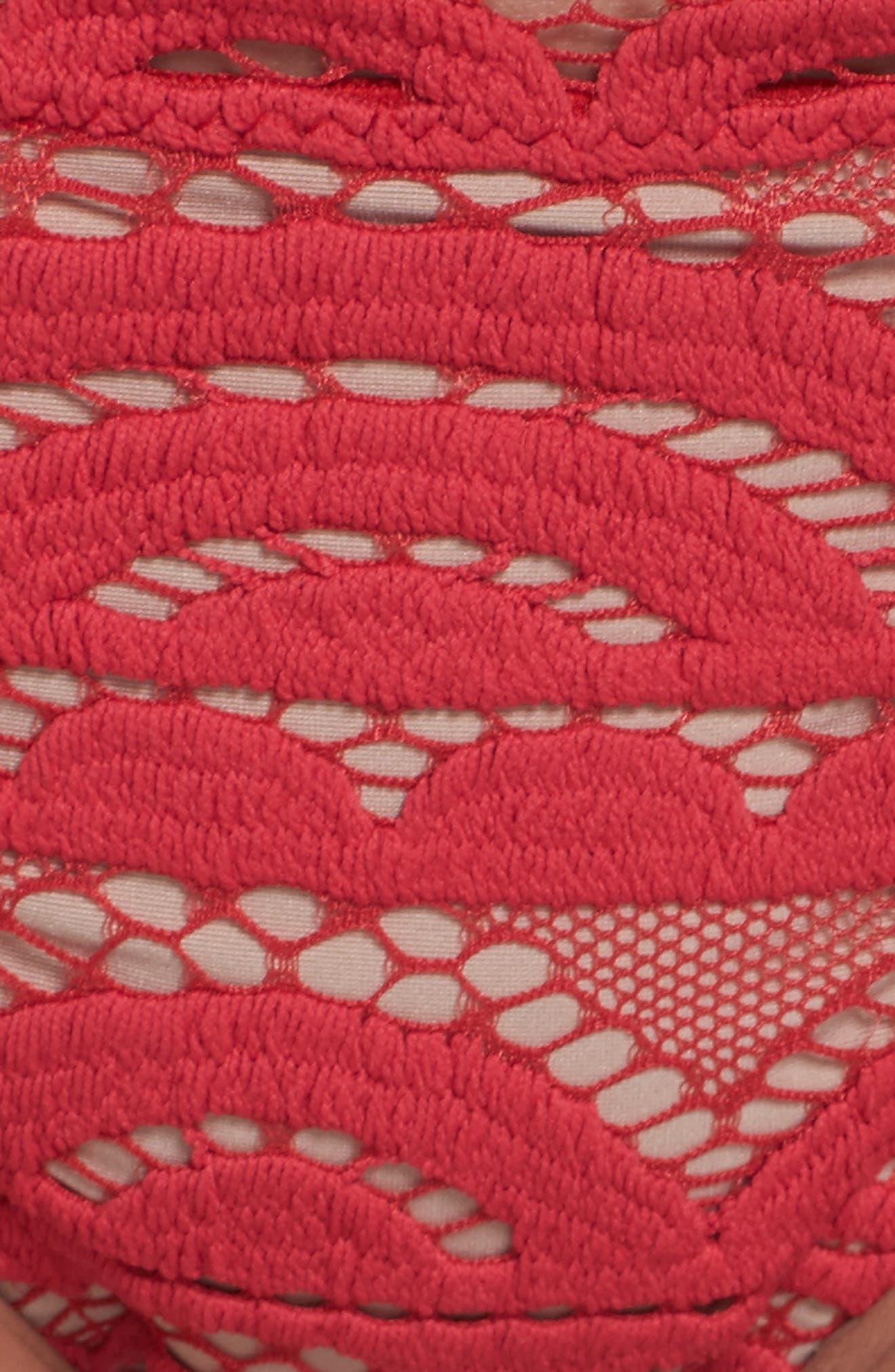 Lace Bikini Bottoms,                             Alternate thumbnail 5, color,                             600