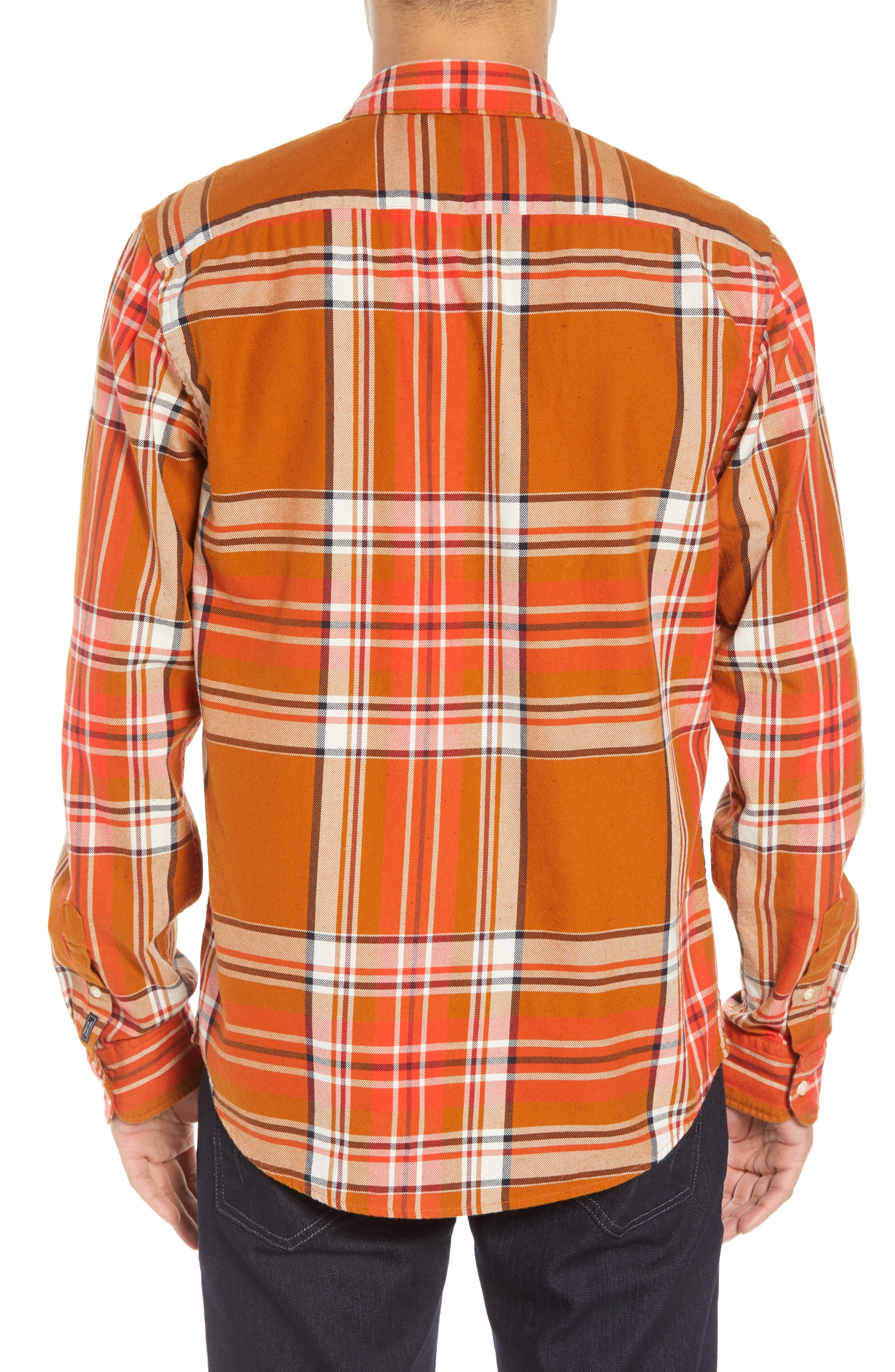 Plaid Flannel Shirt,                             Alternate thumbnail 3, color,                             COMBO A