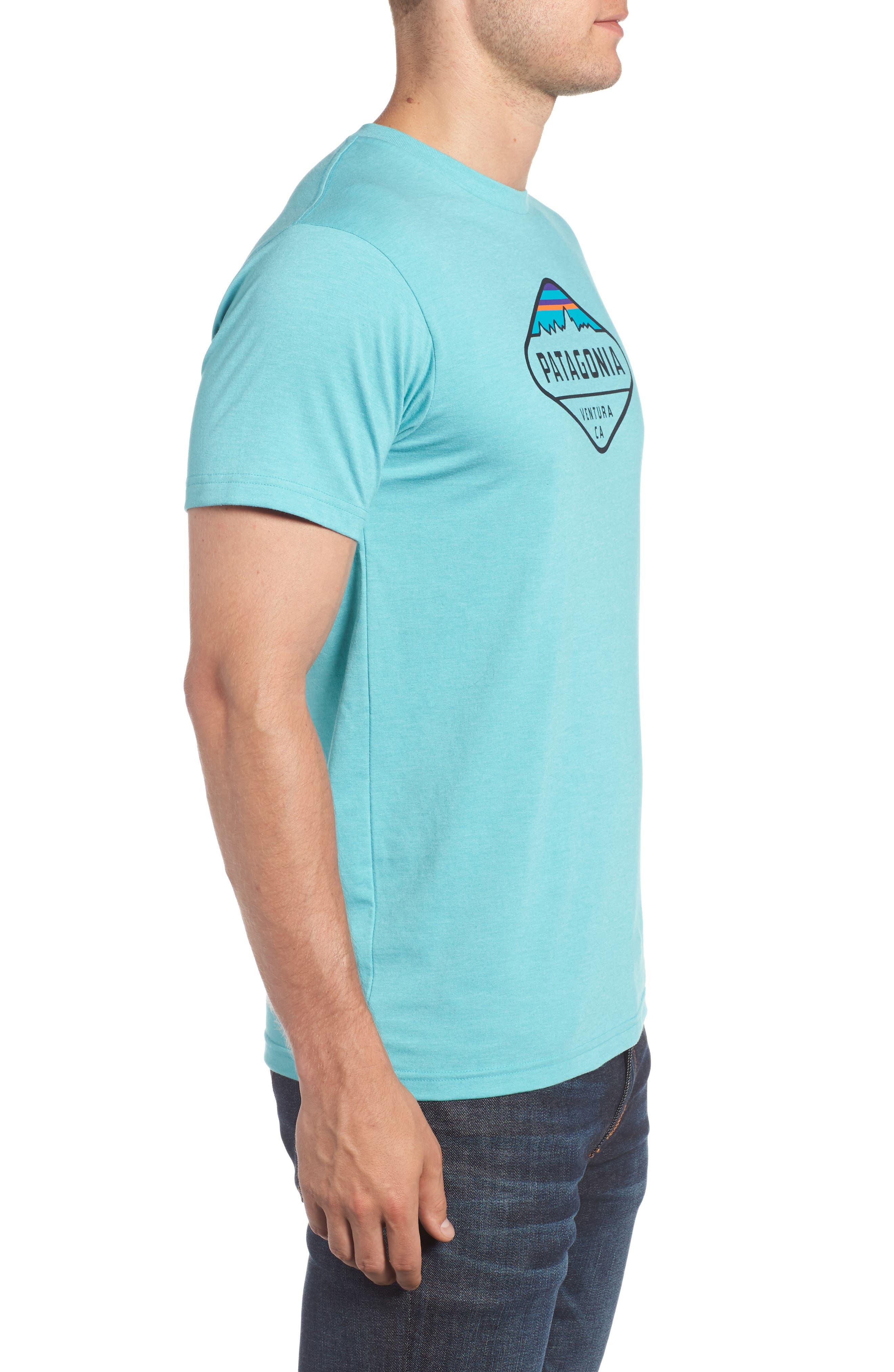'Fitz Roy Crest' Slim Fit Organic Cotton Blend T-Shirt,                             Alternate thumbnail 17, color,