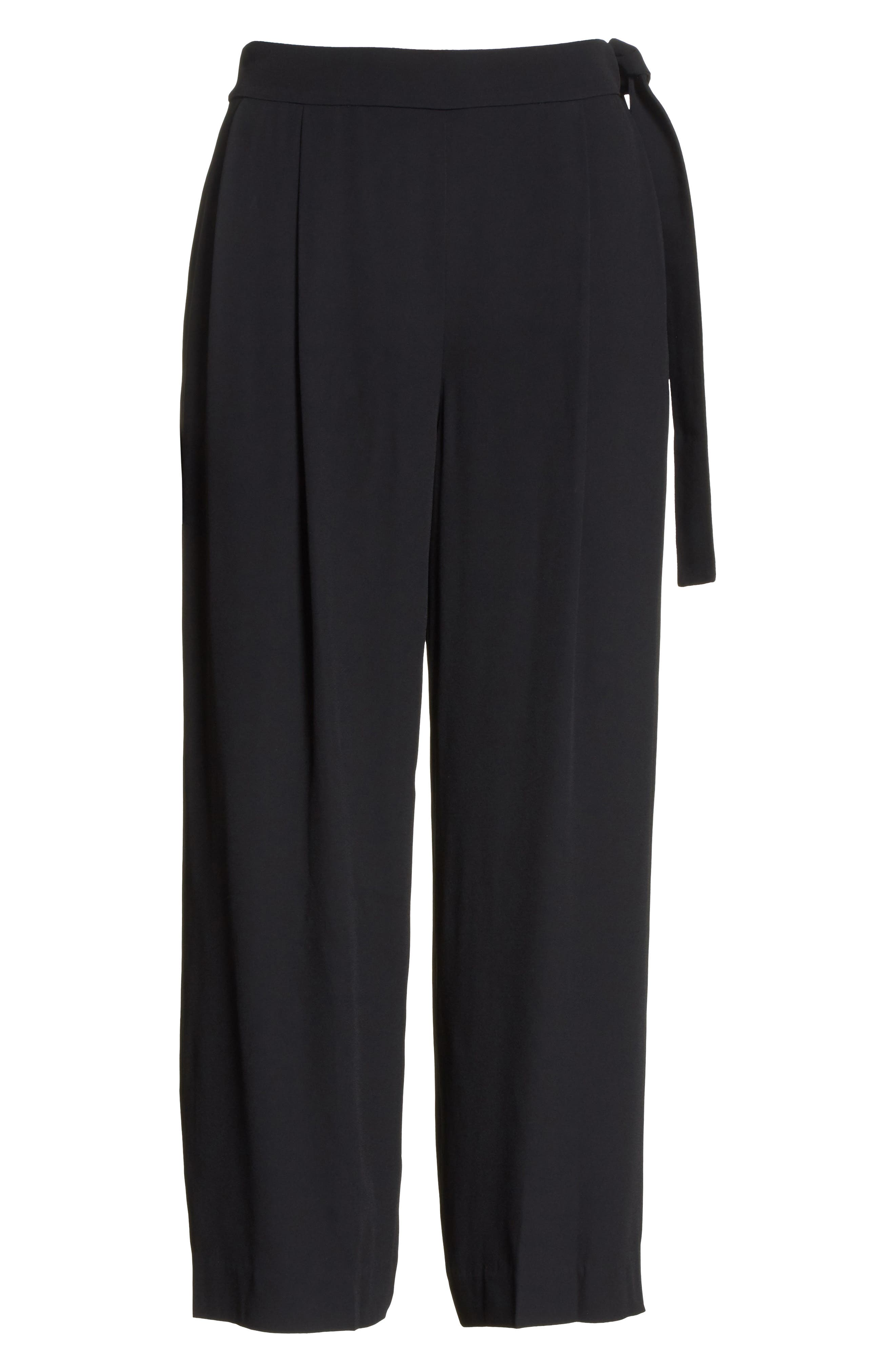 Belted Culottes,                             Alternate thumbnail 6, color,                             001