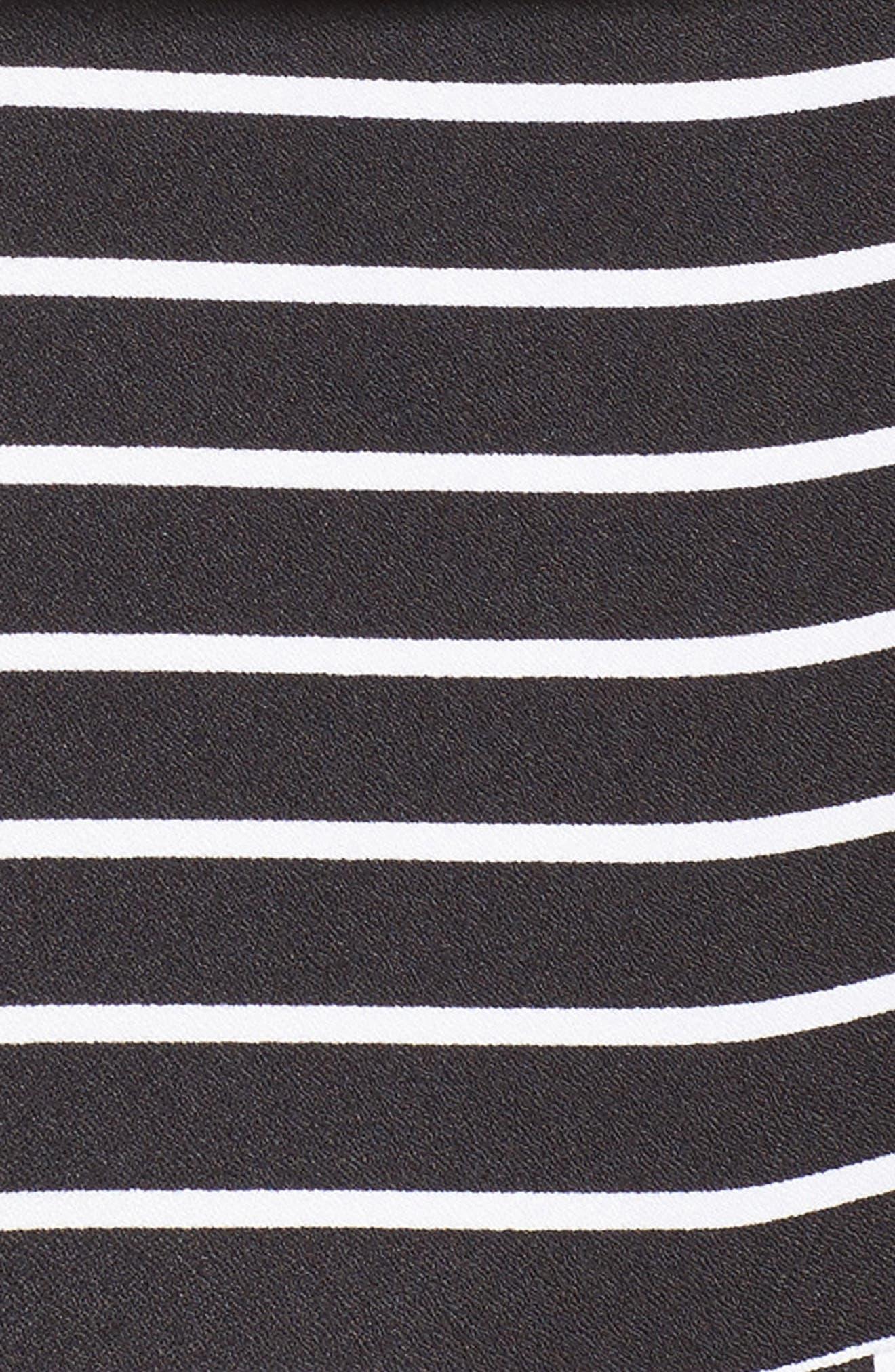 Stripe Jumpsuit,                             Alternate thumbnail 5, color,                             001