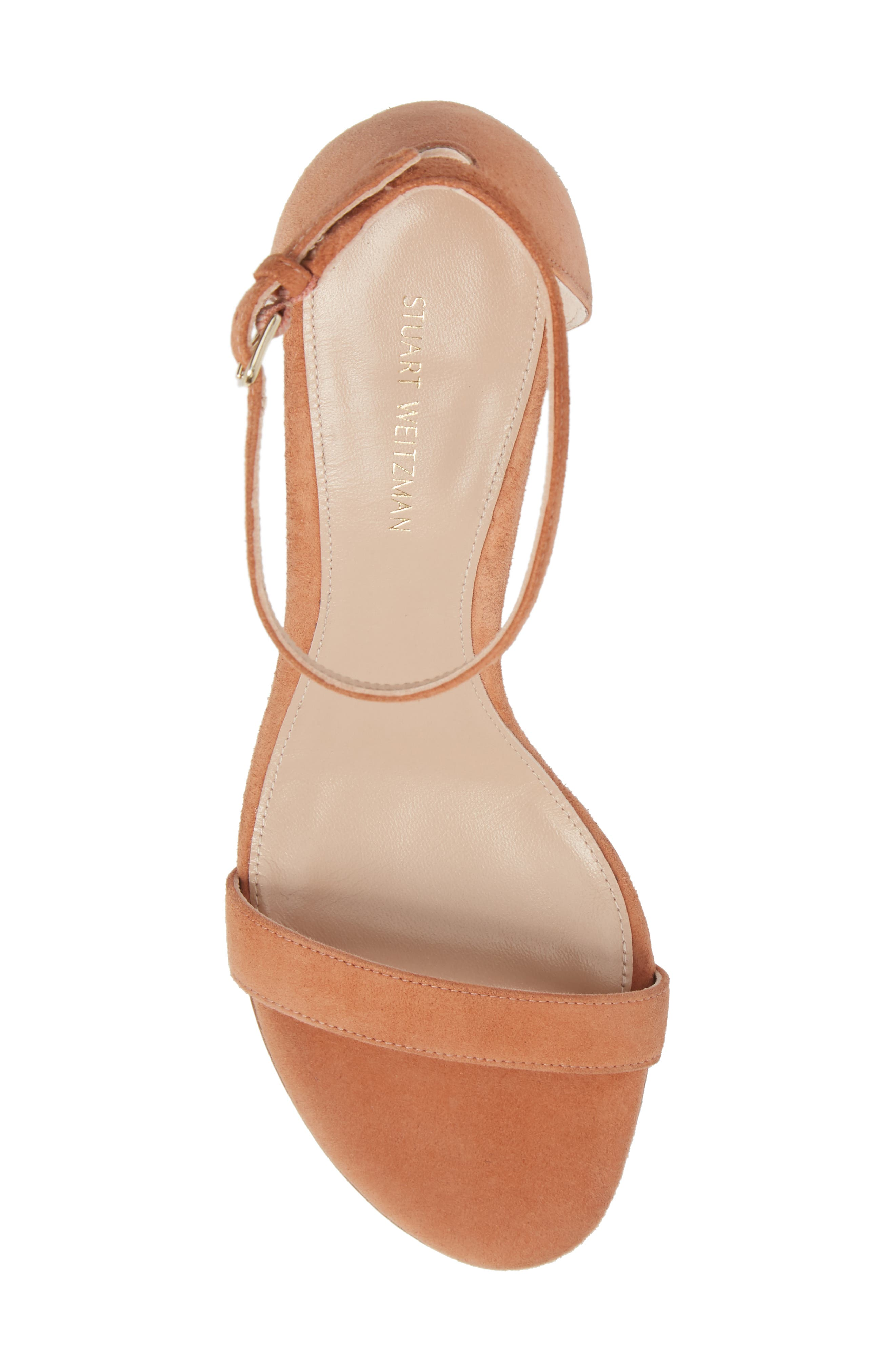 NearlyNude Ankle Strap Sandal,                             Alternate thumbnail 112, color,